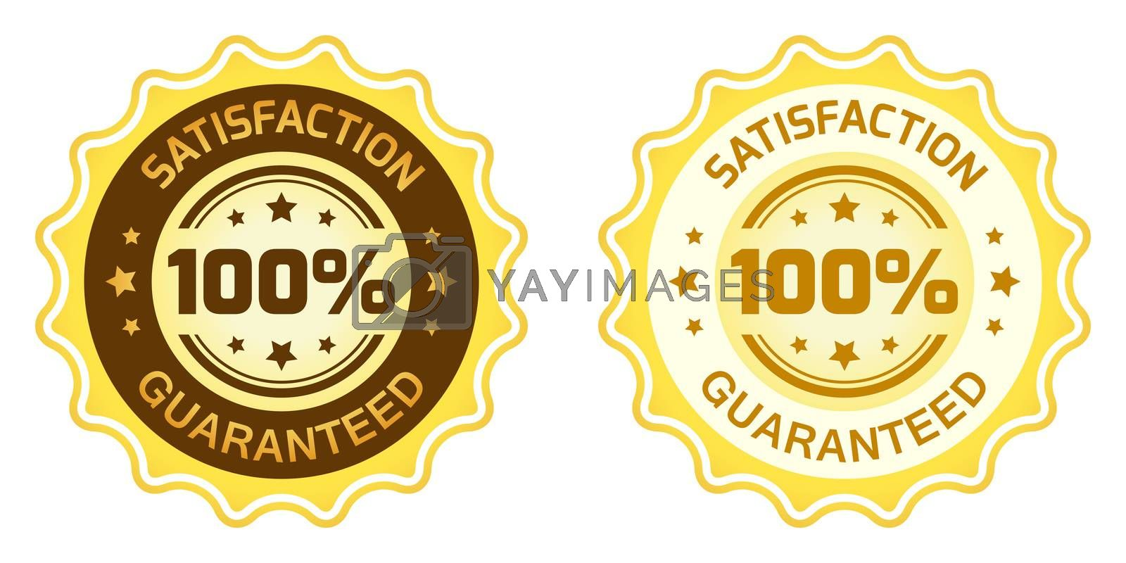 100 Satisfaction Guaranteed Label by WaD