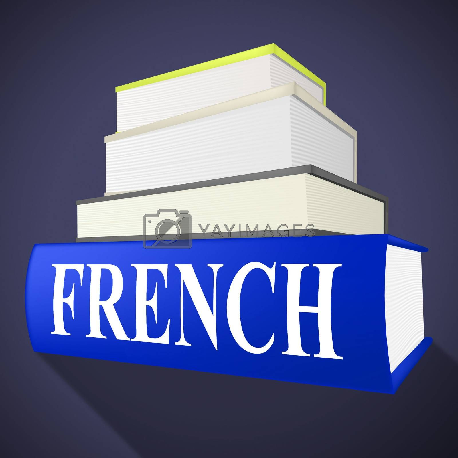 French Book Indicates Translate To English And Euro by stuartmiles