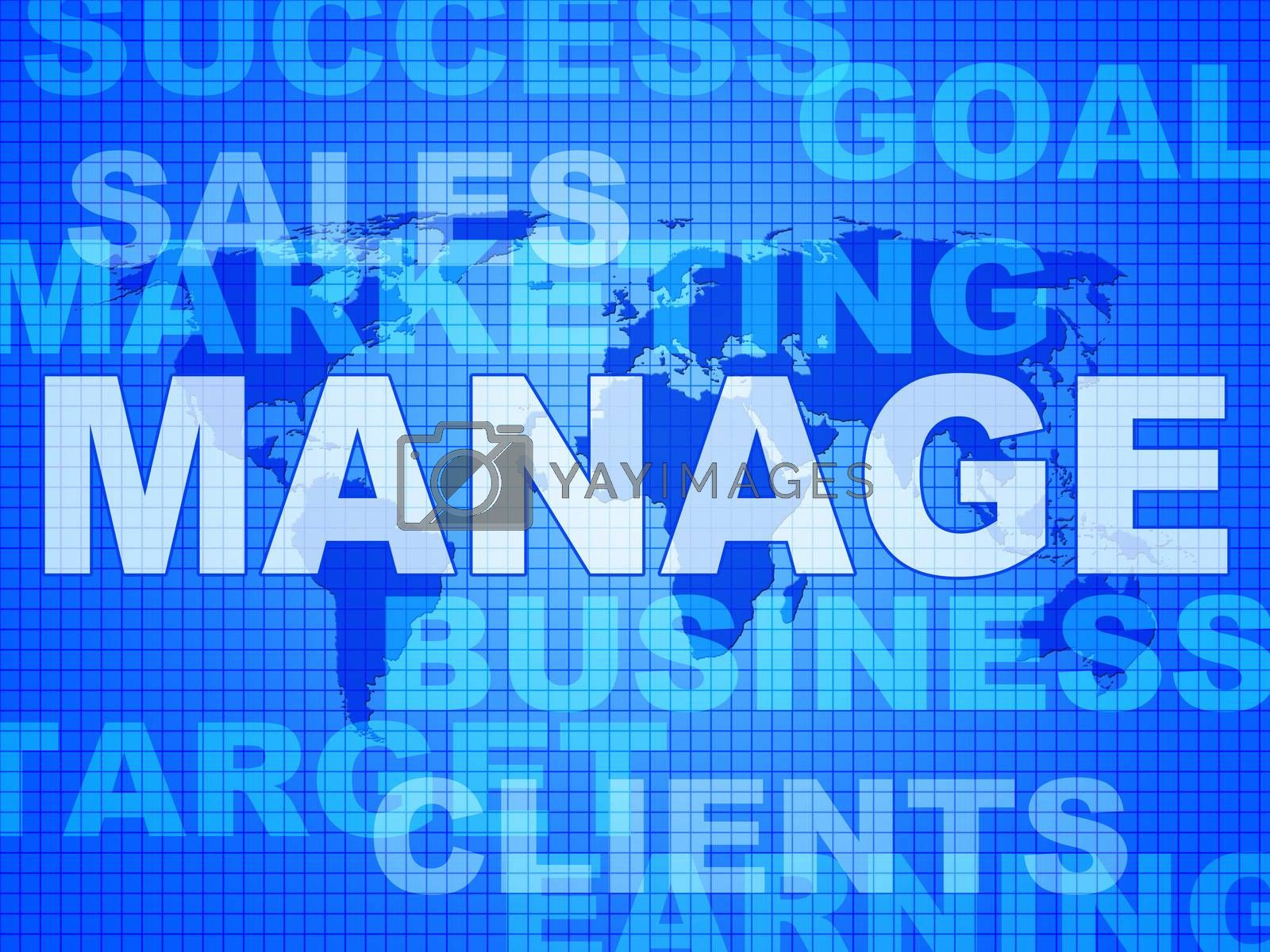 Manage Words Represents Directorate Head And Managing by stuartmiles