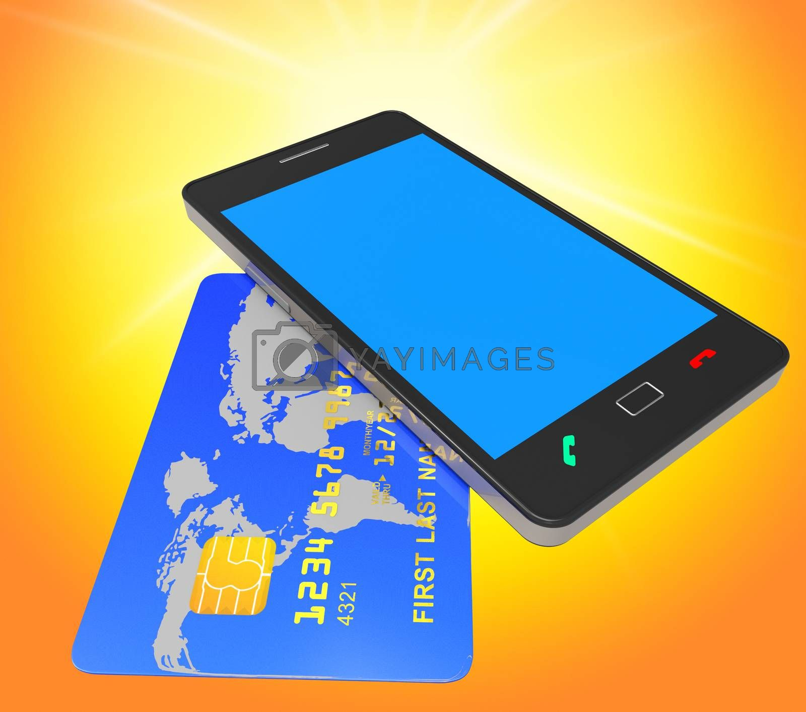 Credit Card Online Means World Wide Web And Banking by stuartmiles