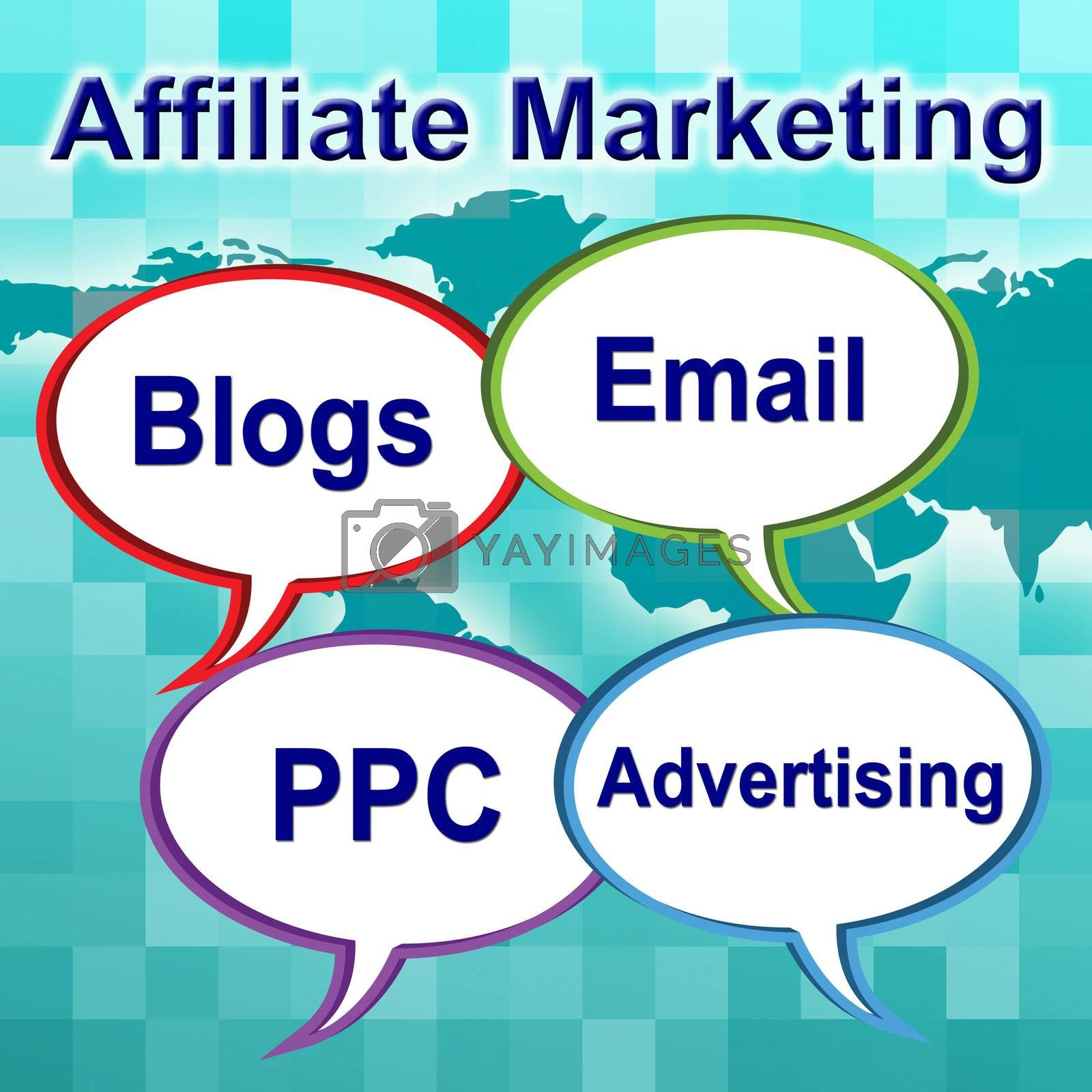 Affiliate Marketing Represents Join Forces And Associate by stuartmiles