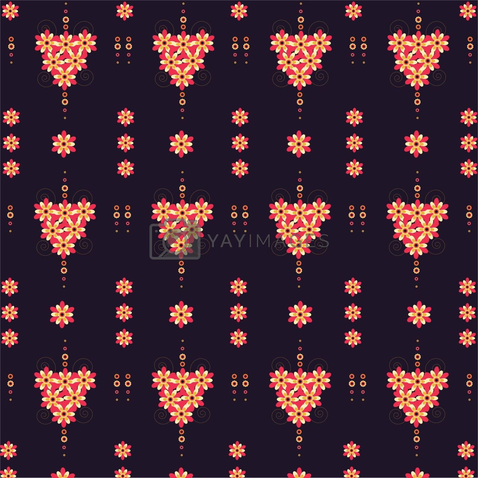 pattern flowers by vip76