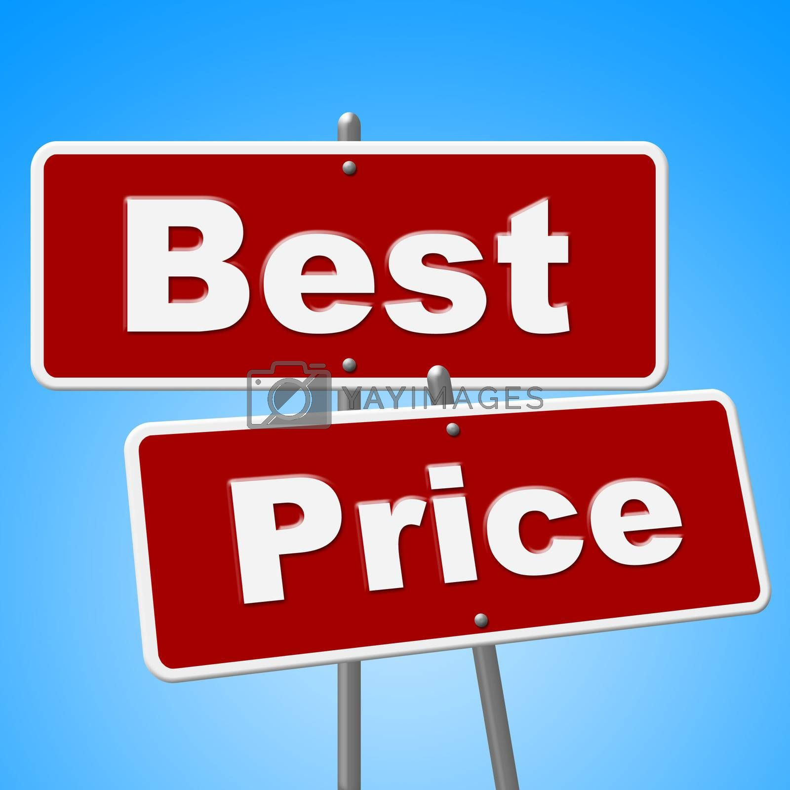 Best Price Signs Means Promotion Placard And Sales by stuartmiles