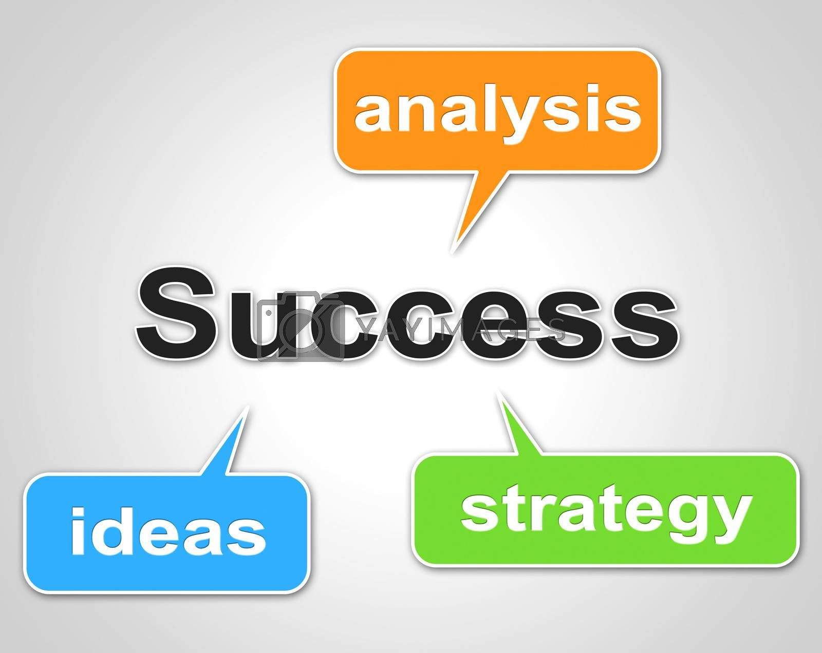Success Words Indicates Succeed Resolution And Victors by stuartmiles
