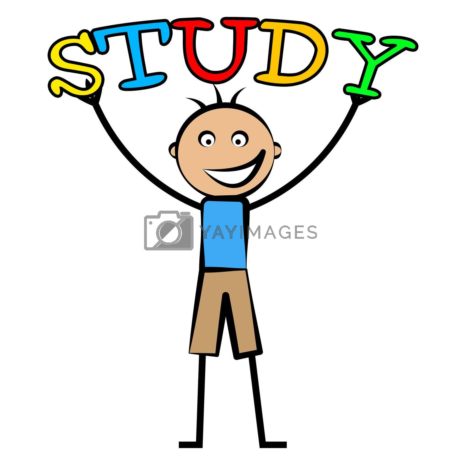 Kids Study Means Tutoring Child And Schooling by stuartmiles