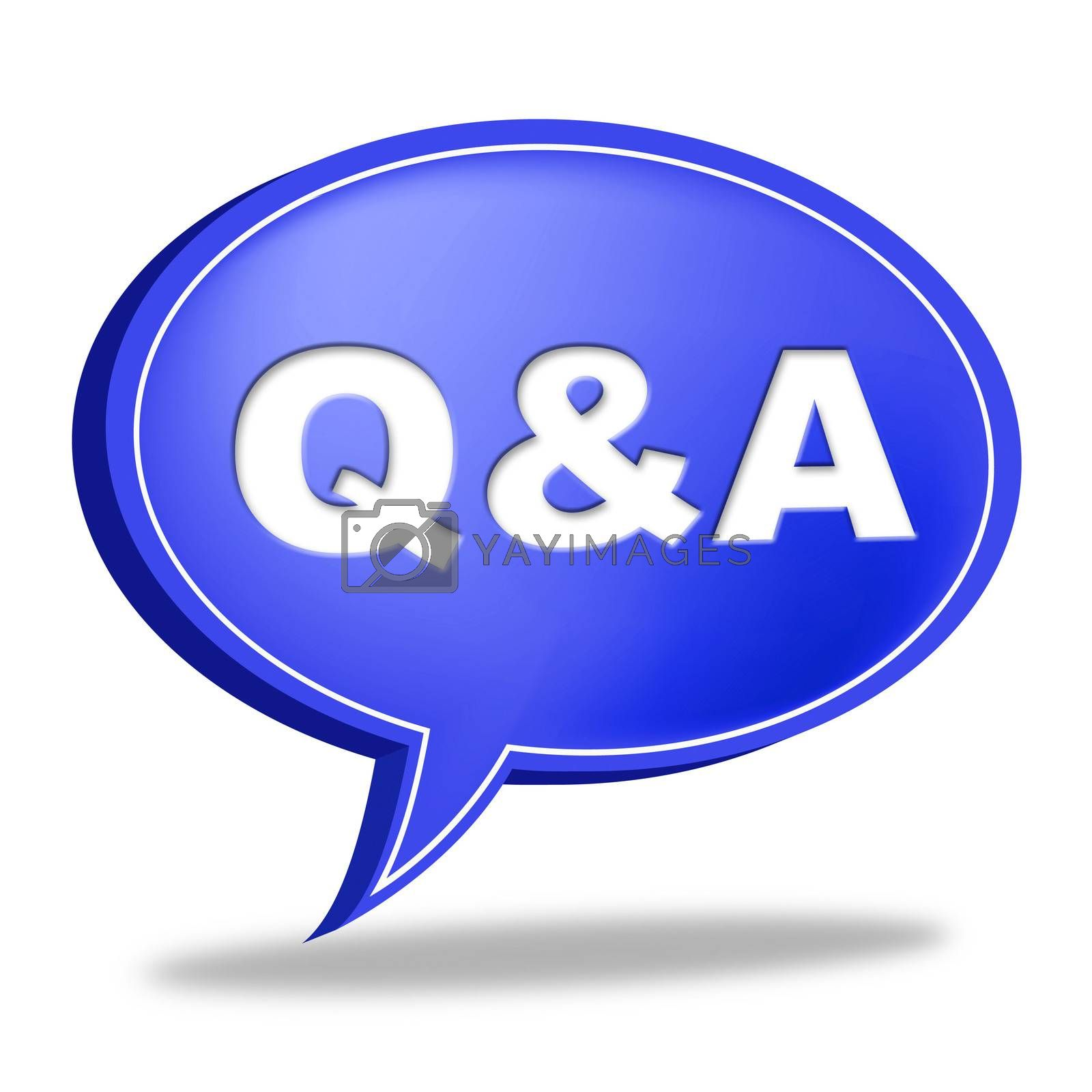 Q And A Shows Question Advice And Help by stuartmiles