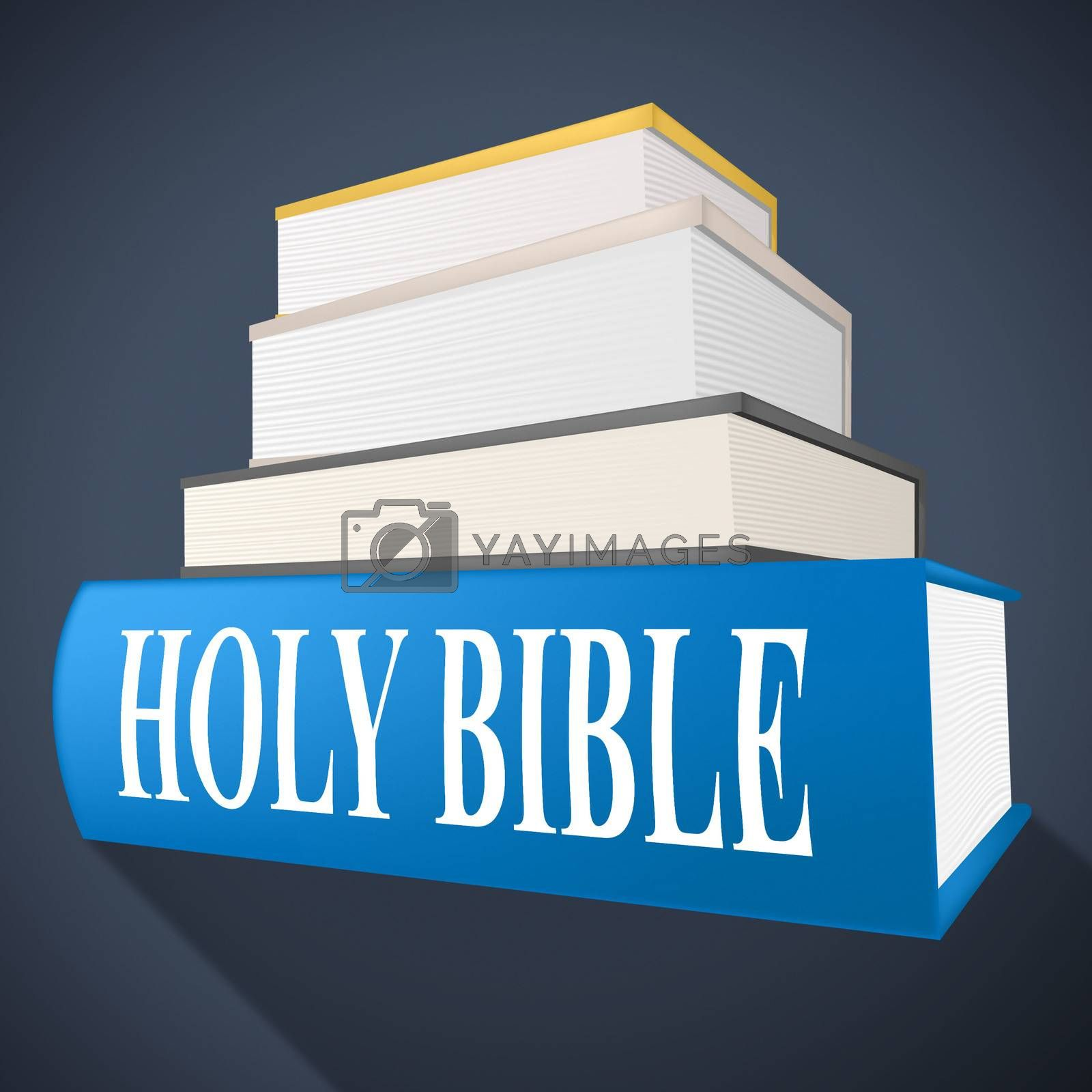 Holy Bible Means New Testament And Believer by stuartmiles