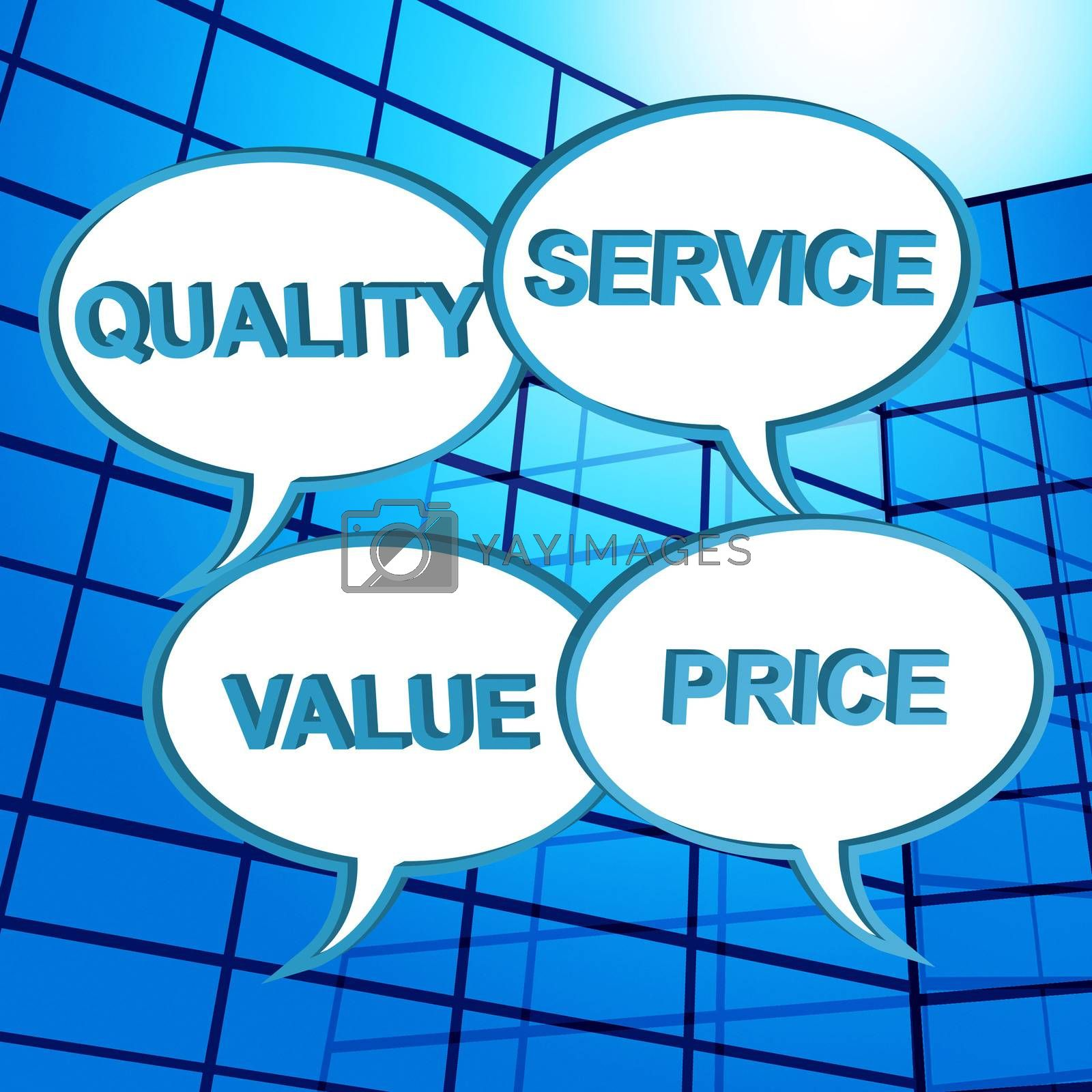 Quality Words Shows Approval Approved And Satisfaction by stuartmiles