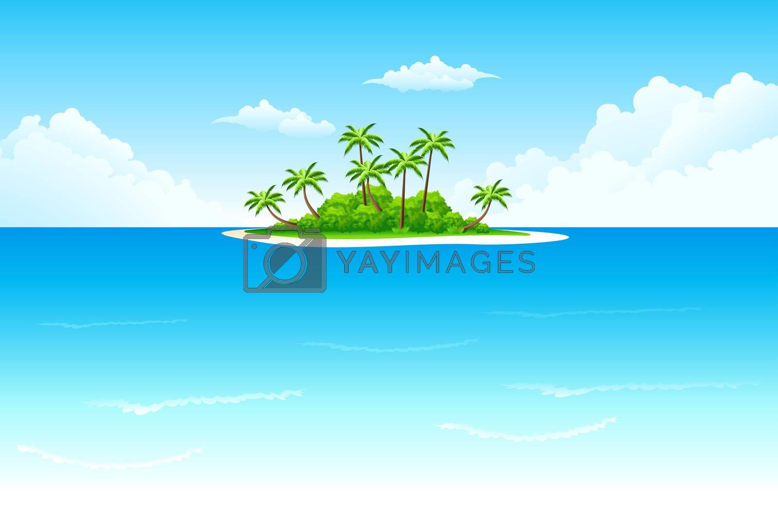 Tropical island by WaD