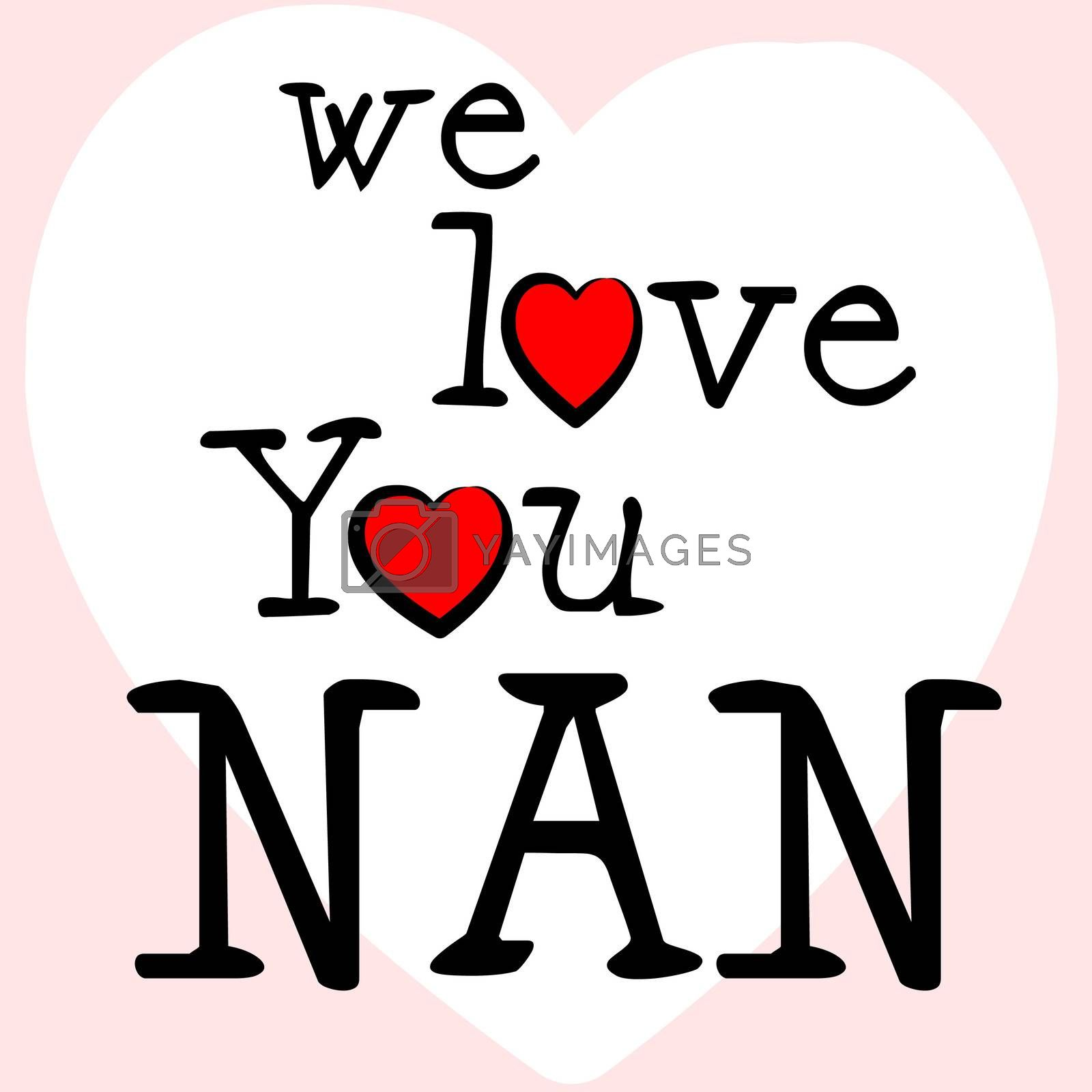 We Love Nan Shows Dating Devotion And Gran by stuartmiles