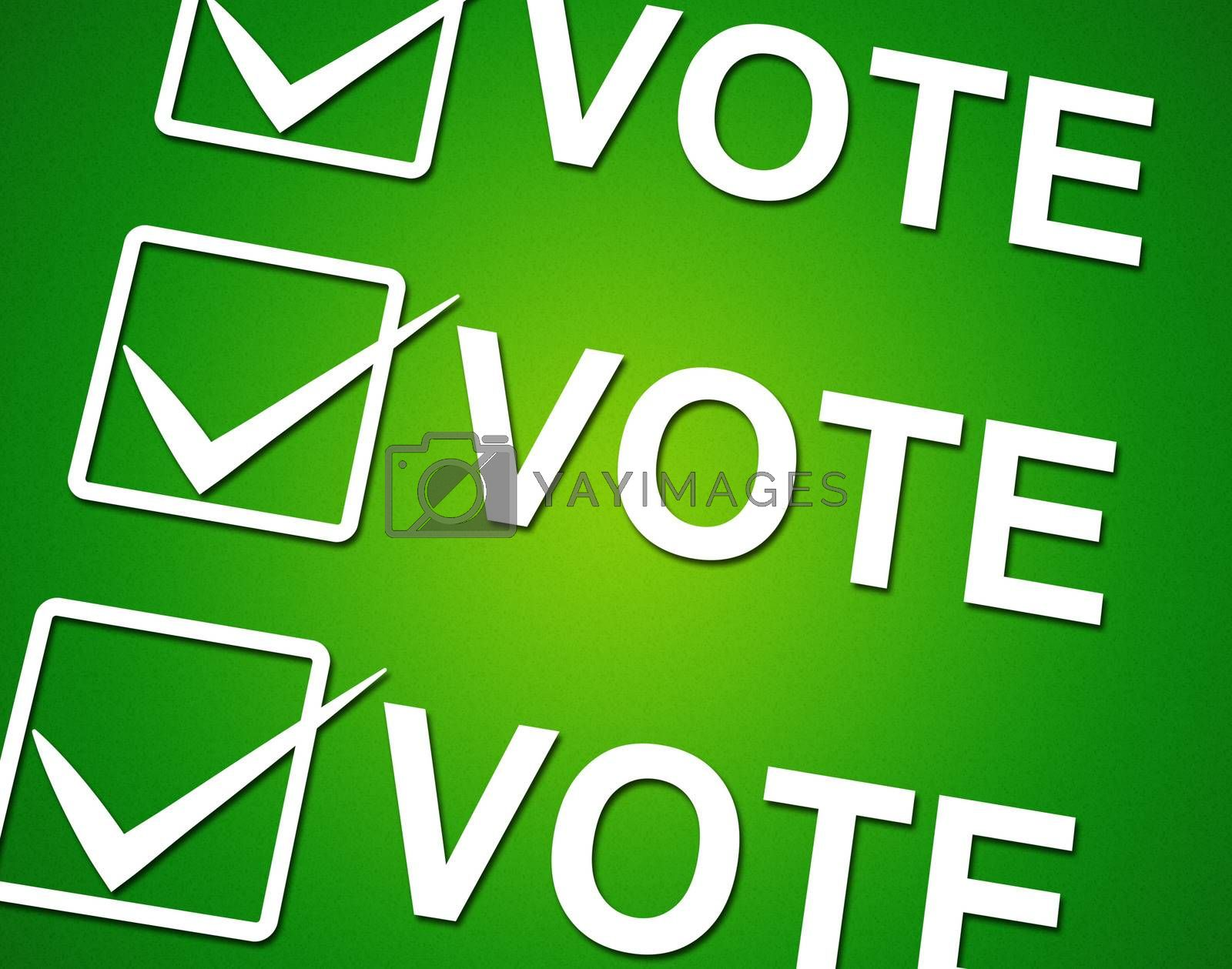 Vote Ticks Indicates Choosing Voting And Choose by stuartmiles