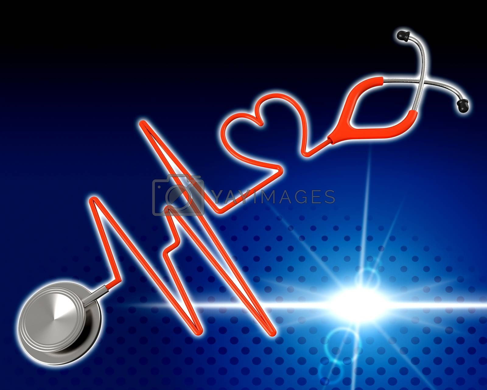 Medical Health Indicates Preventive Medicine And Cardiac by stuartmiles