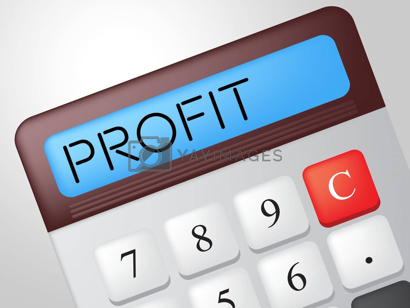 Profit Calculator Shows Lucrative Growth And Earn by stuartmiles