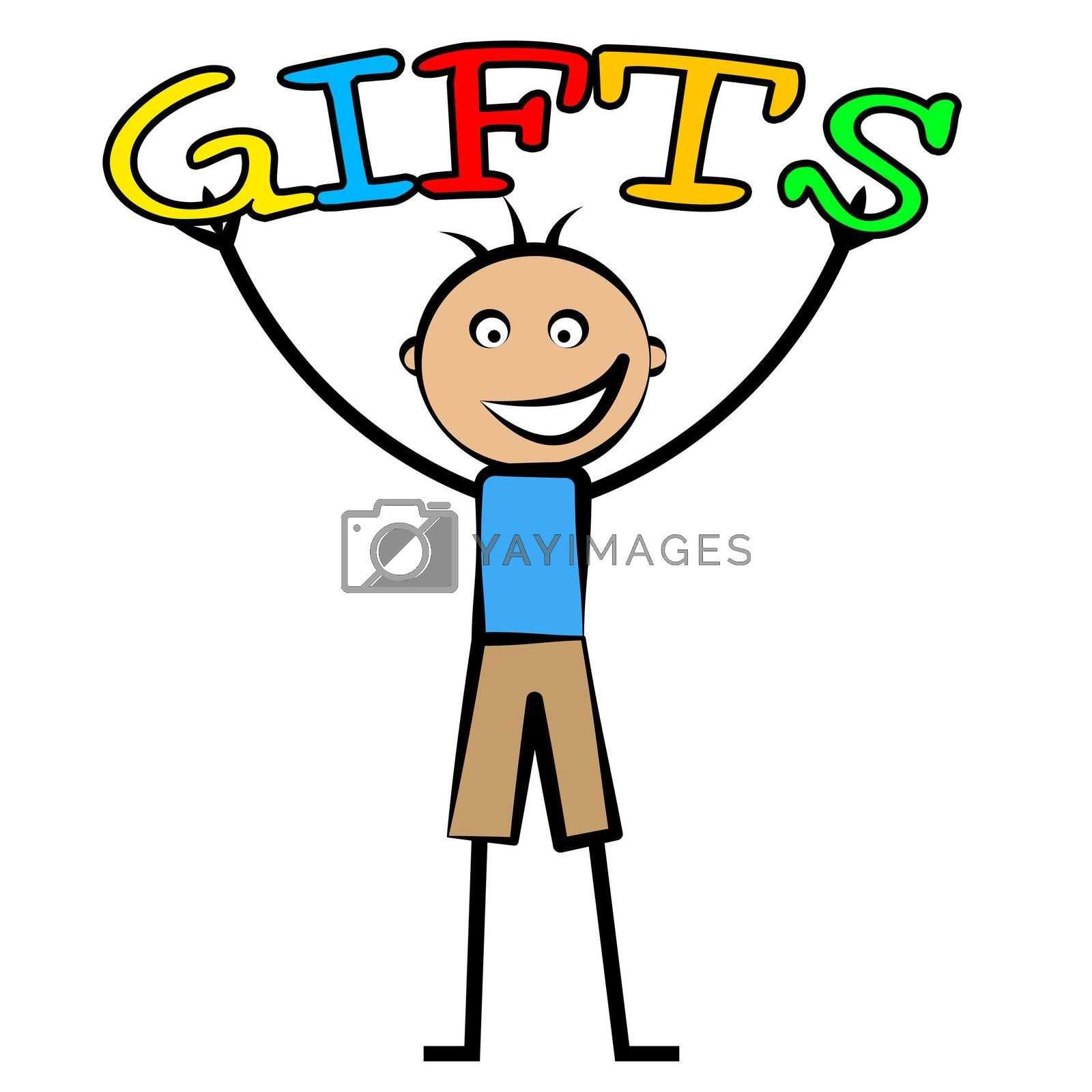 Kids Gifts Means Youngsters Presents And Surprises by stuartmiles