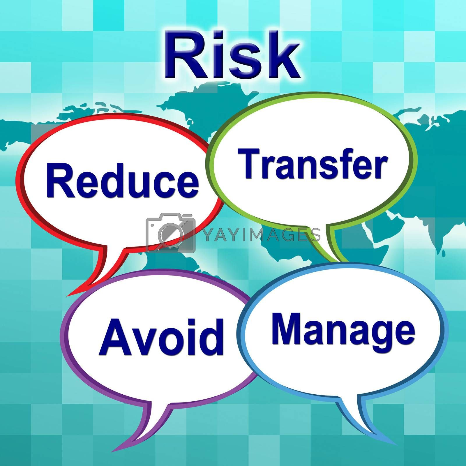 Risk Words Indicates Unstable Caution And Unsteady by stuartmiles