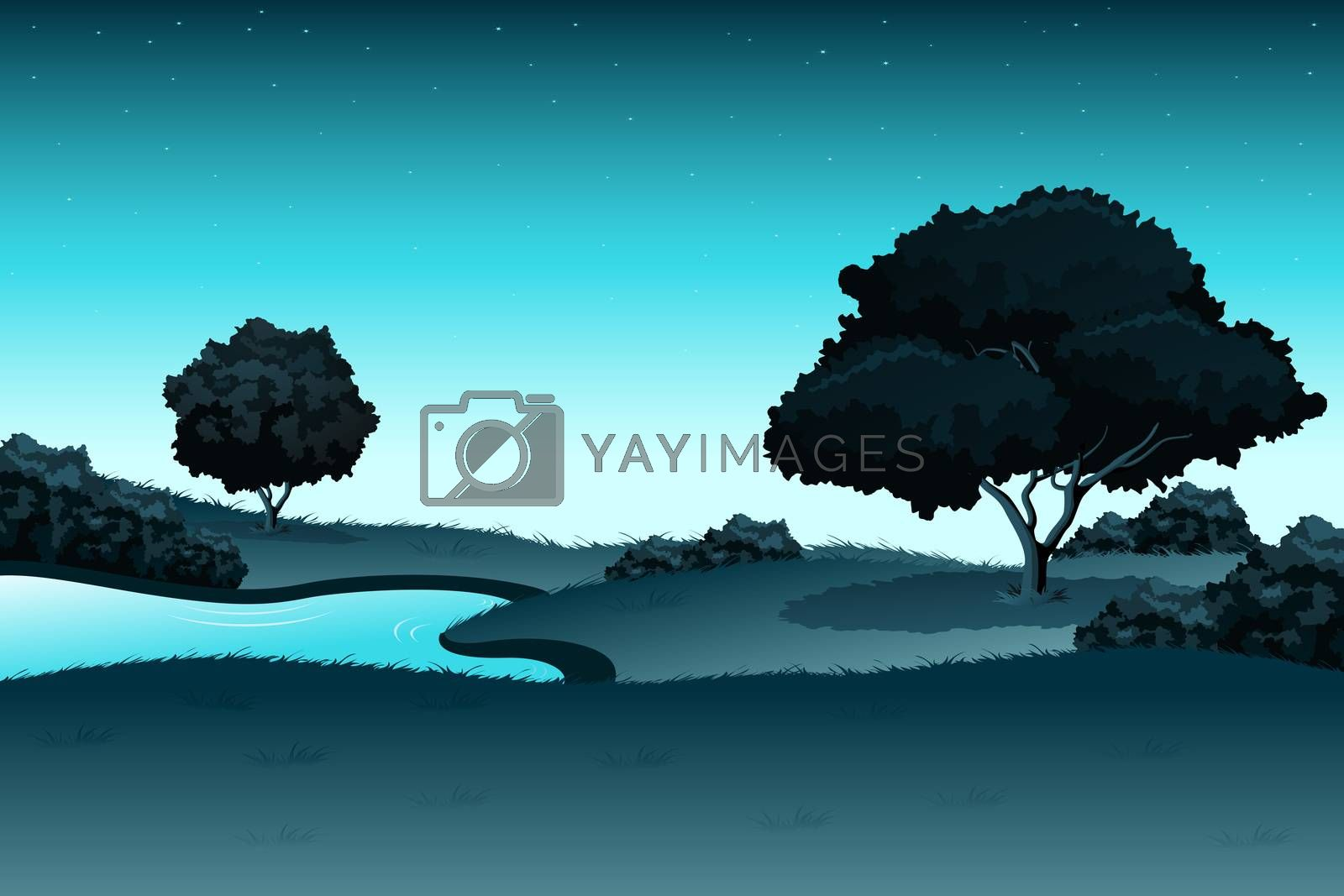 Amazing landscape by WaD