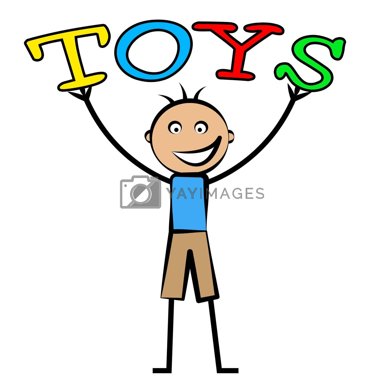 Kids Toys Shows Youths Youngster And Children's by stuartmiles