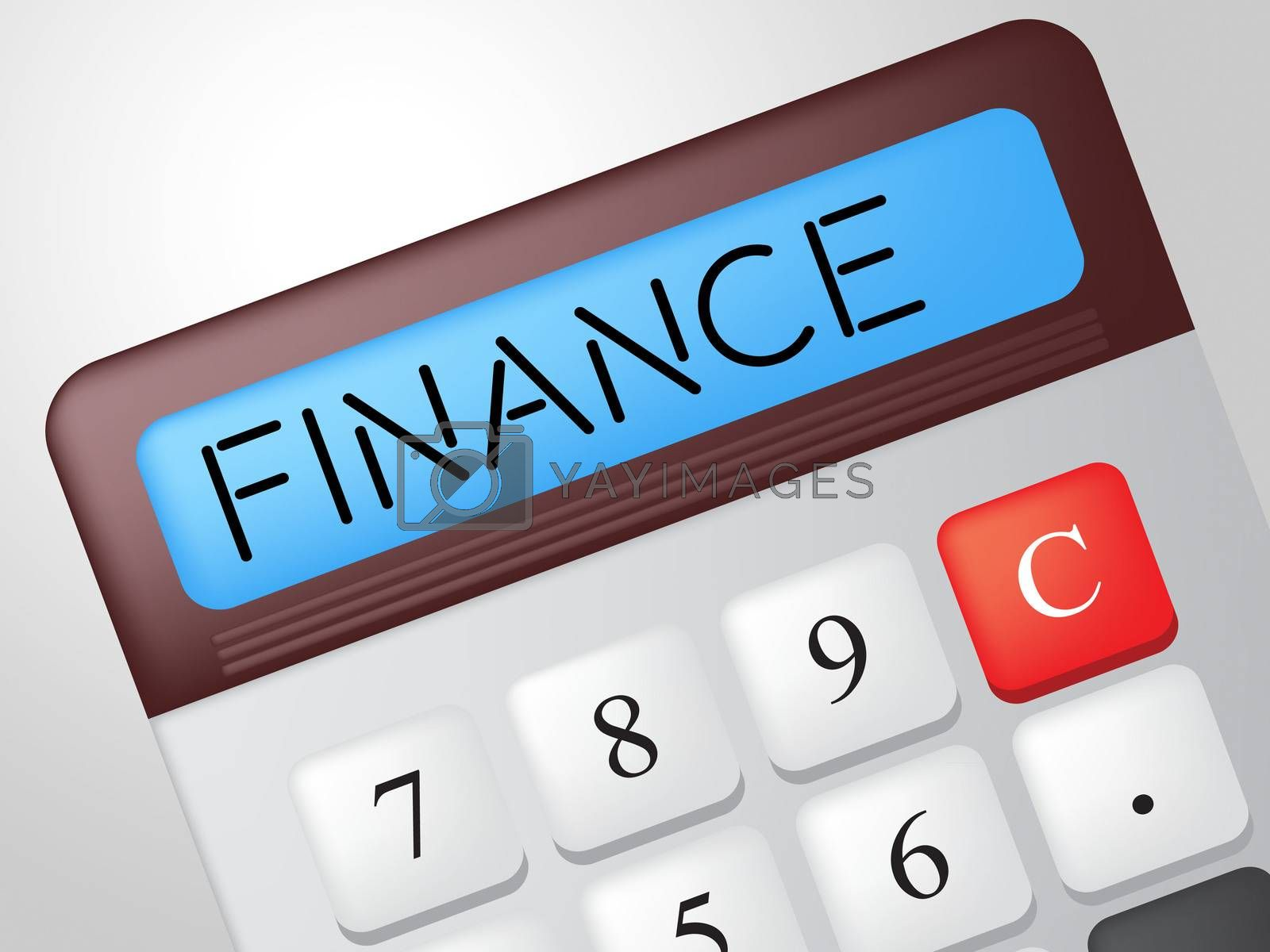 Finance Calculator Shows Business Trading And Calculate by stuartmiles