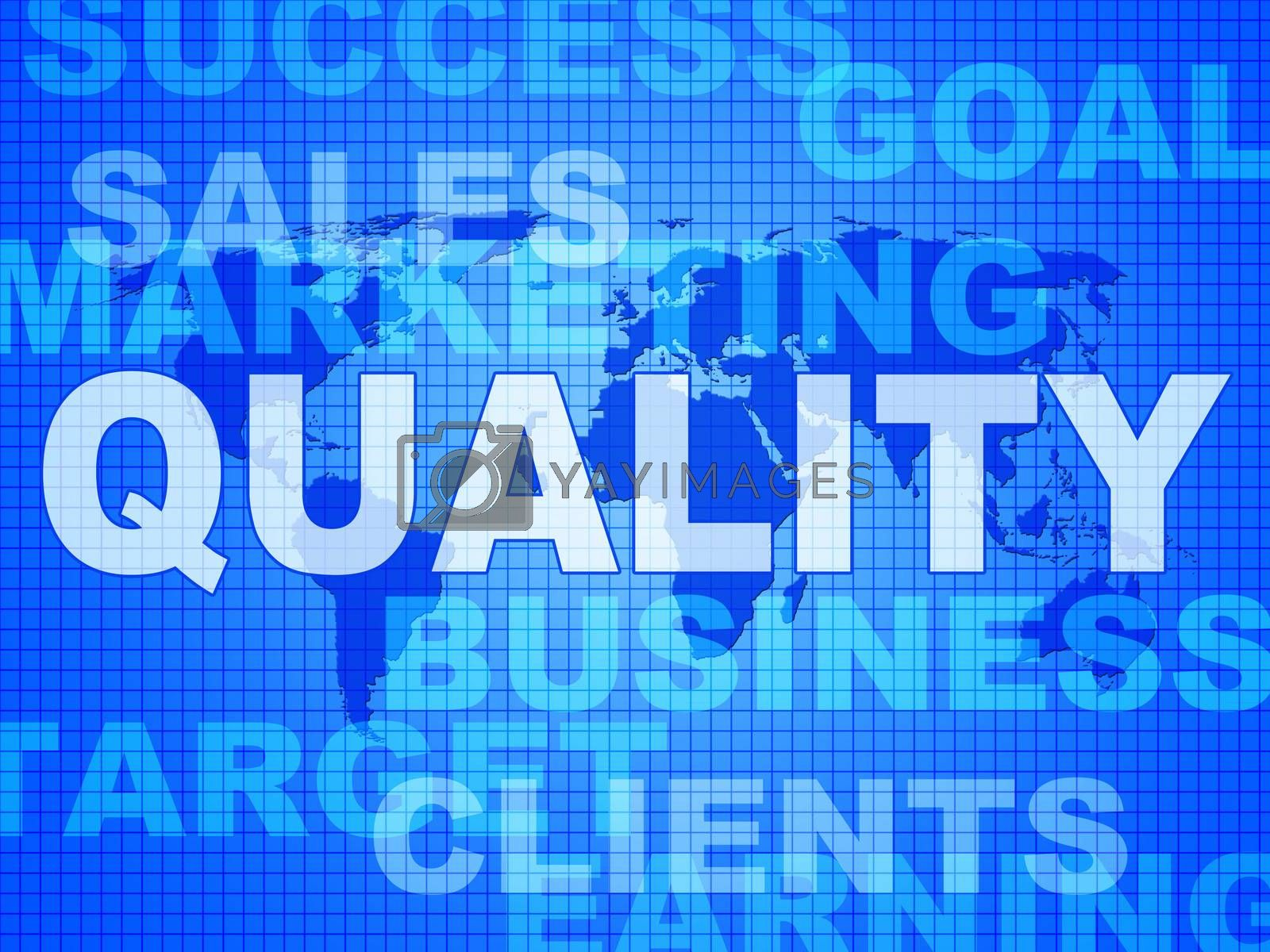 Quality Words Shows Guarantee Check And Approve by stuartmiles
