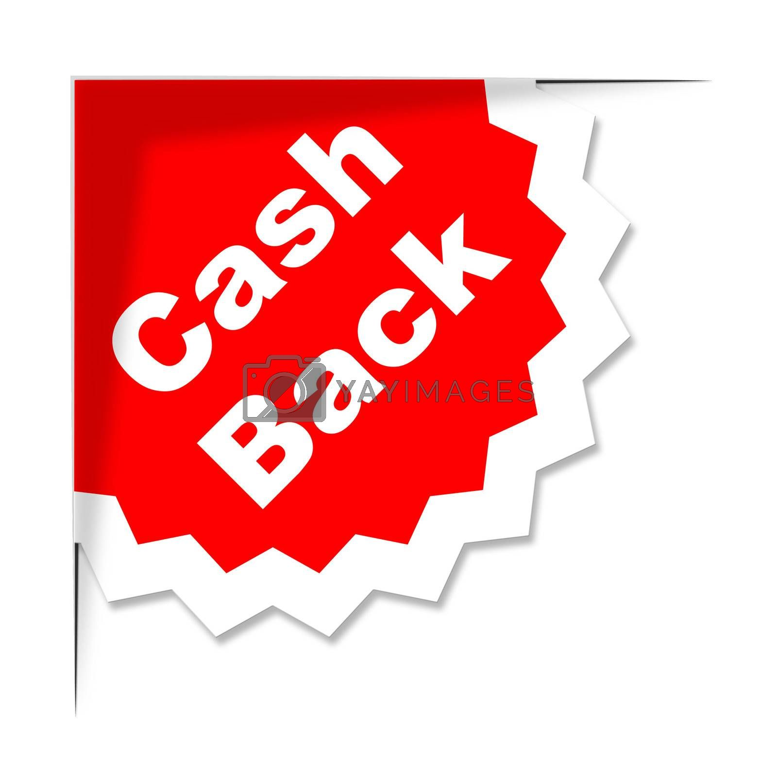Cash Back Shows Sale Promotion And Offer by stuartmiles
