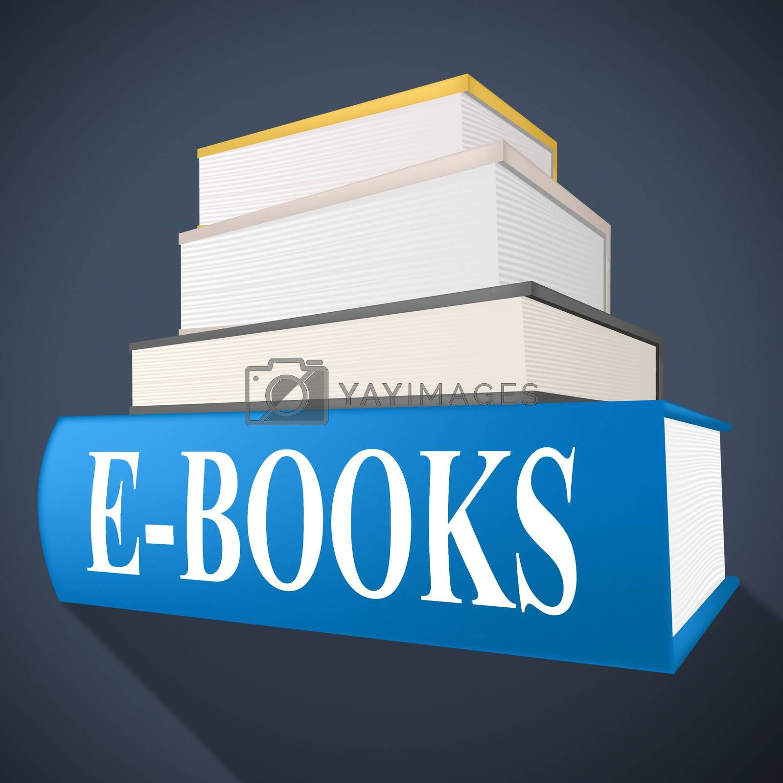 E Books Shows World Wide Web And Fiction by stuartmiles