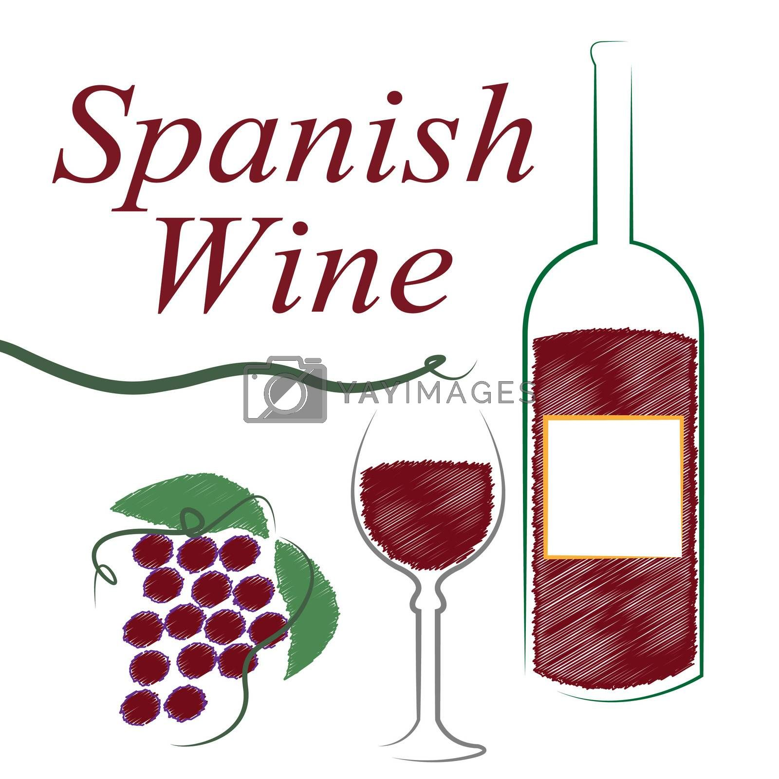 Spain Alcohol Indicates Intoxicating Drink And Booze by stuartmiles