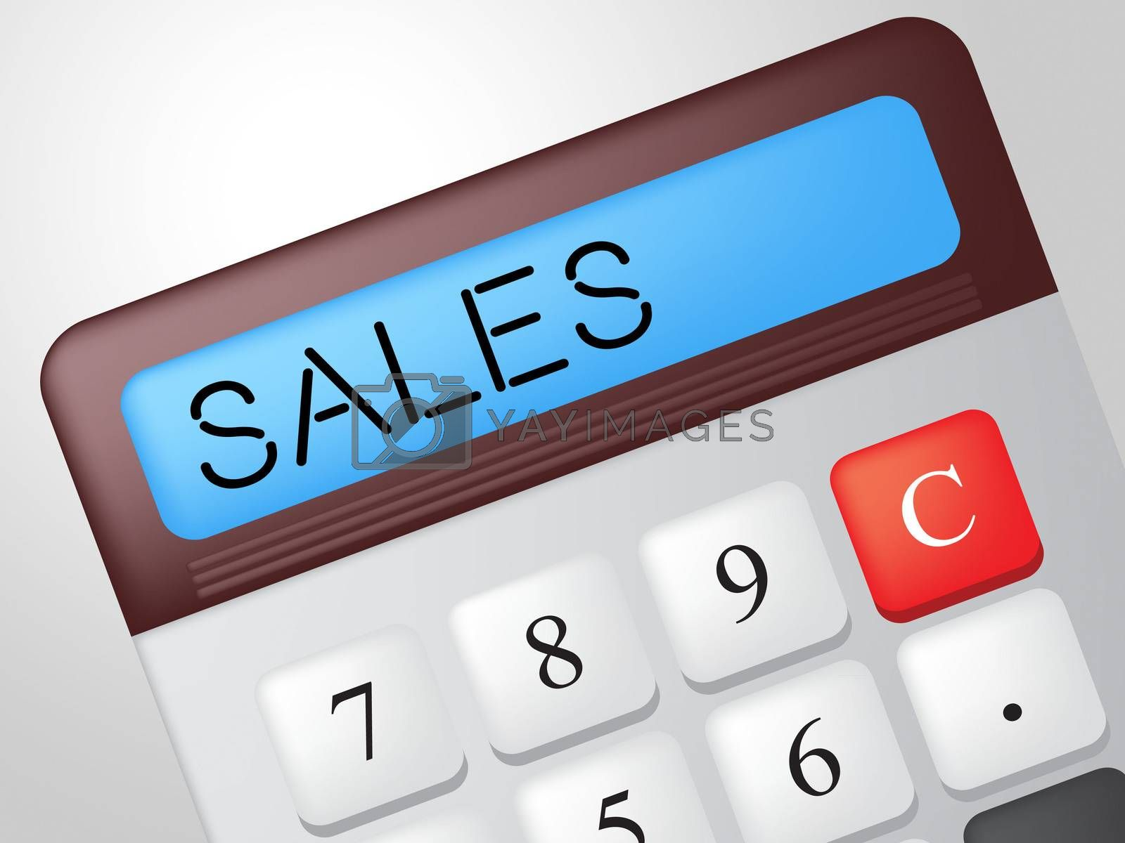 Sales Calculator Indicates Market Calculate And Marketing by stuartmiles
