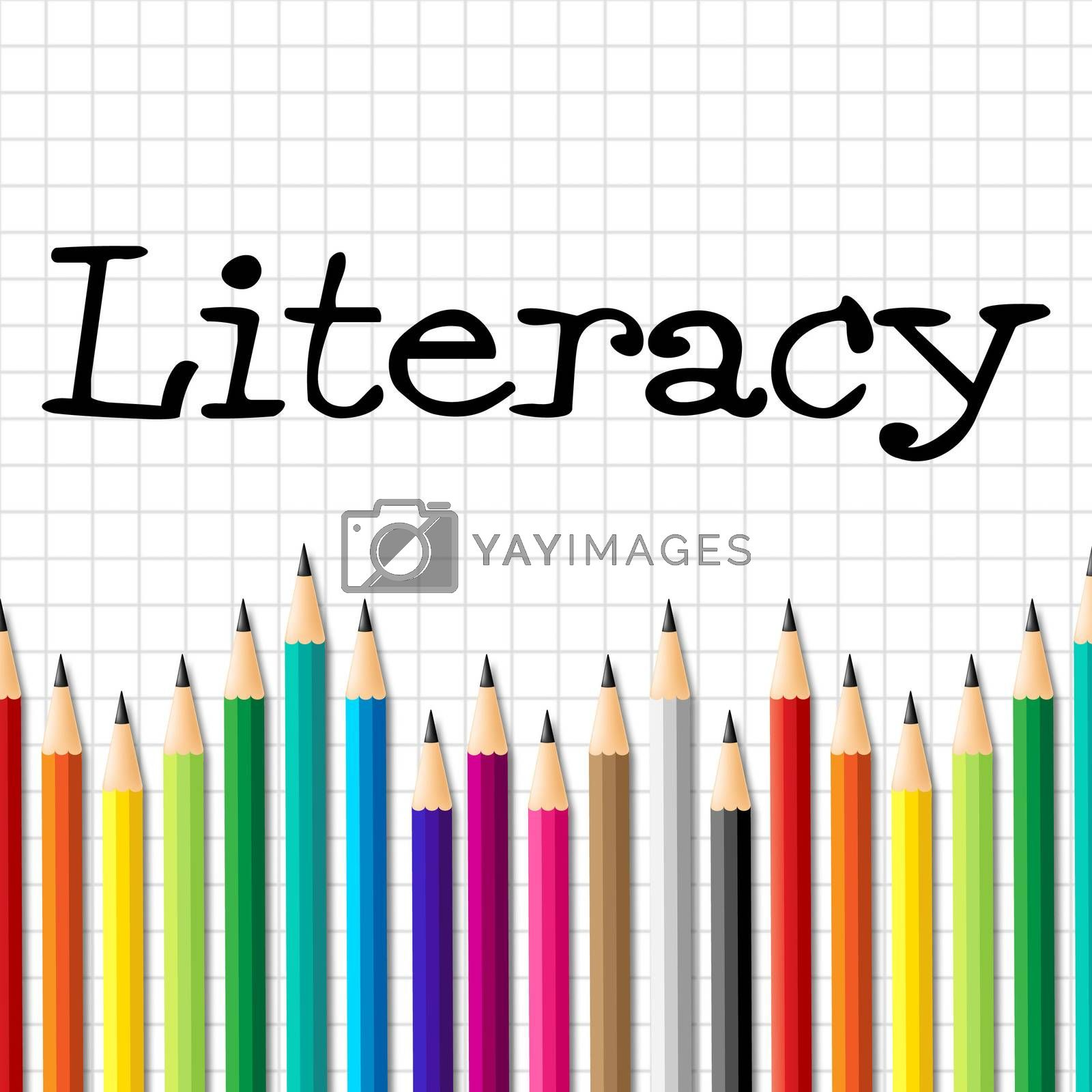 Literacy Pencils Represents Train Proficiency And Develop by stuartmiles