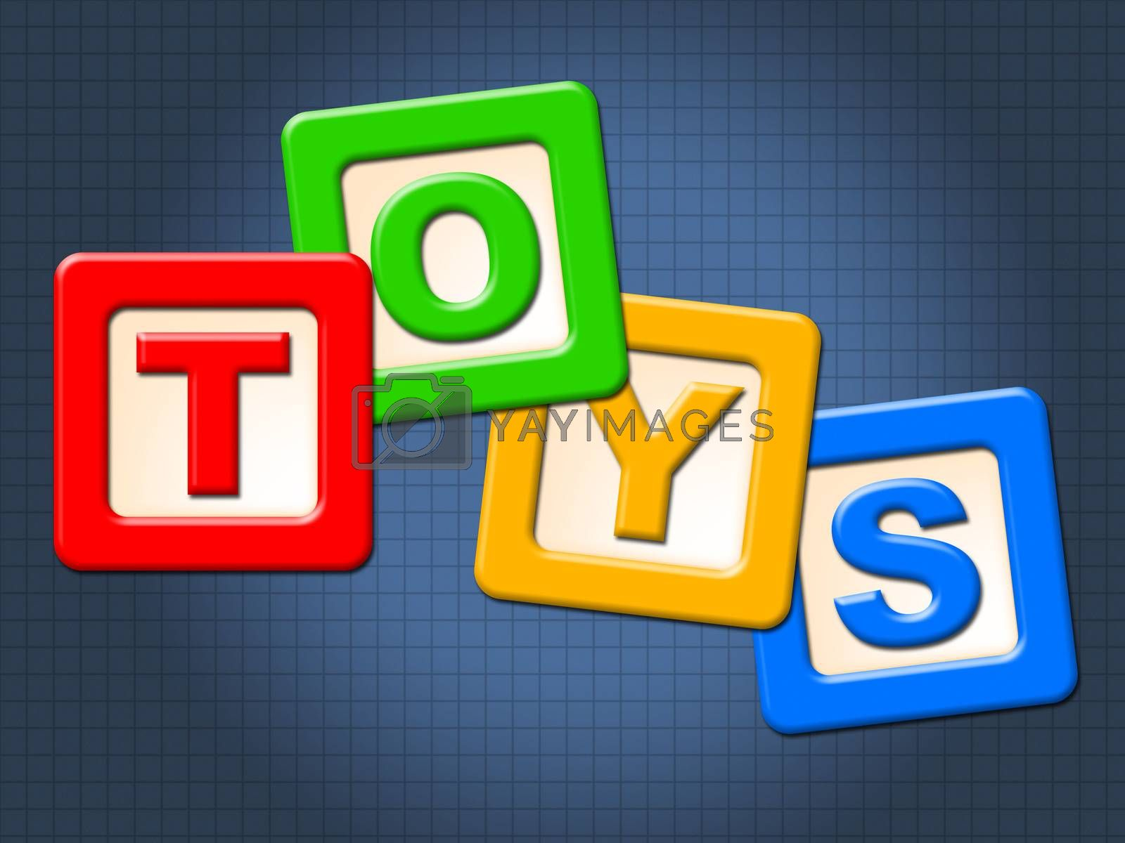 Toys Kids Blocks Means Youths Shopping And Child by stuartmiles