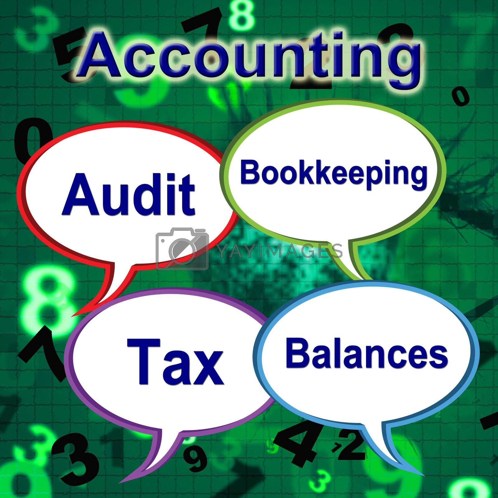 Accounting Words Means Balancing The Books And Auditor by stuartmiles