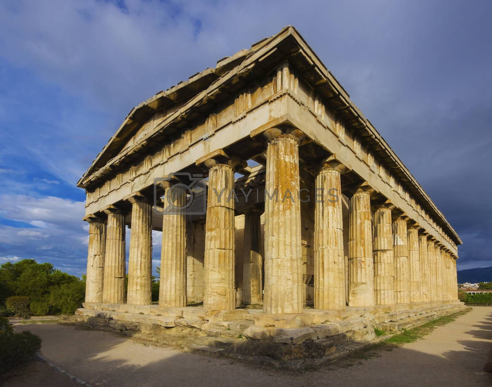 Temple of Hephaistos, Acropolis,Athens, Greece by f/2sumicron