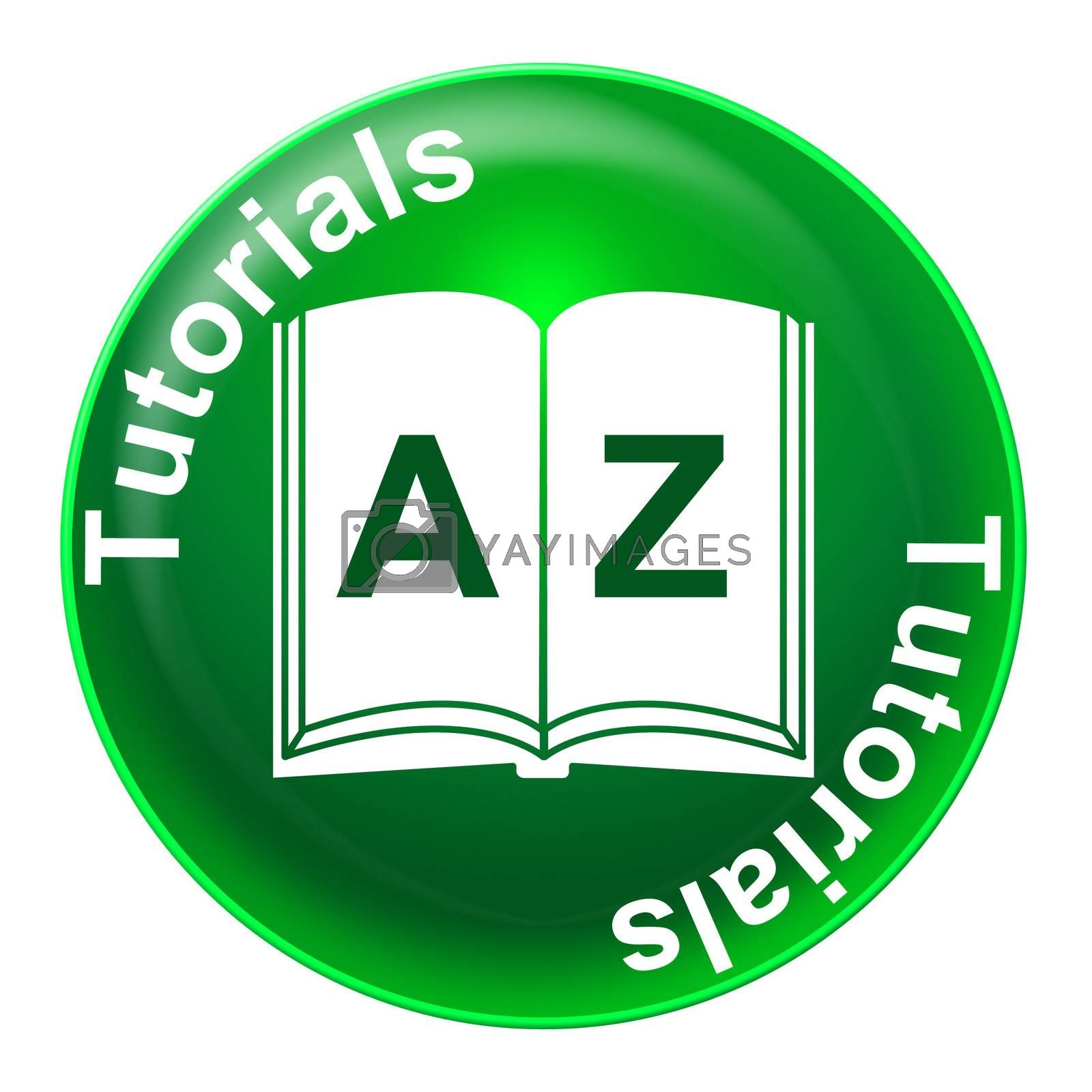 Tutorials Badge Represents Tuition Development And Learned by stuartmiles