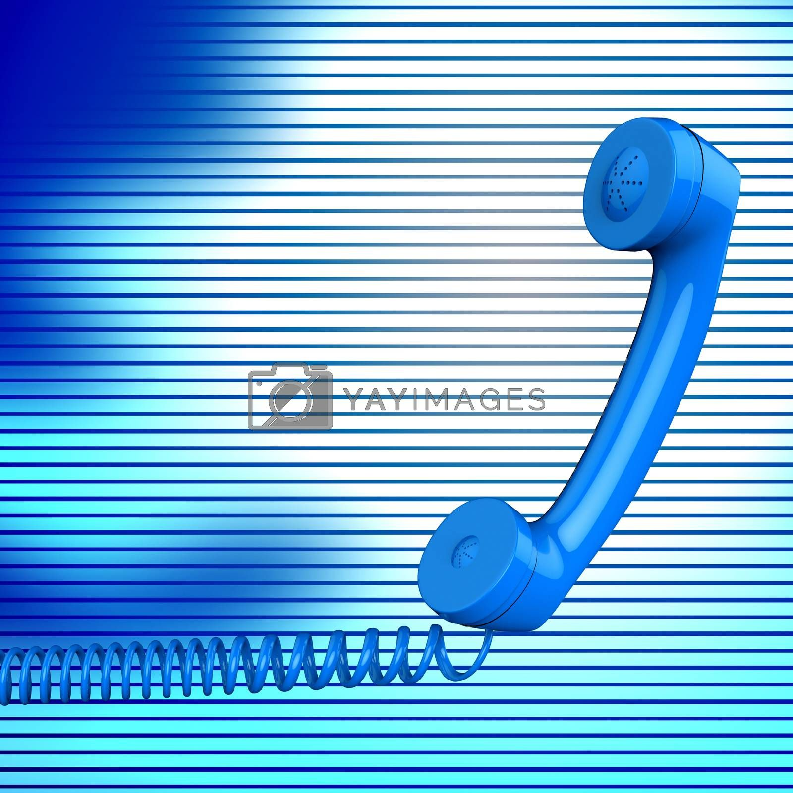Contact Us Means Phone Call And Answer by stuartmiles