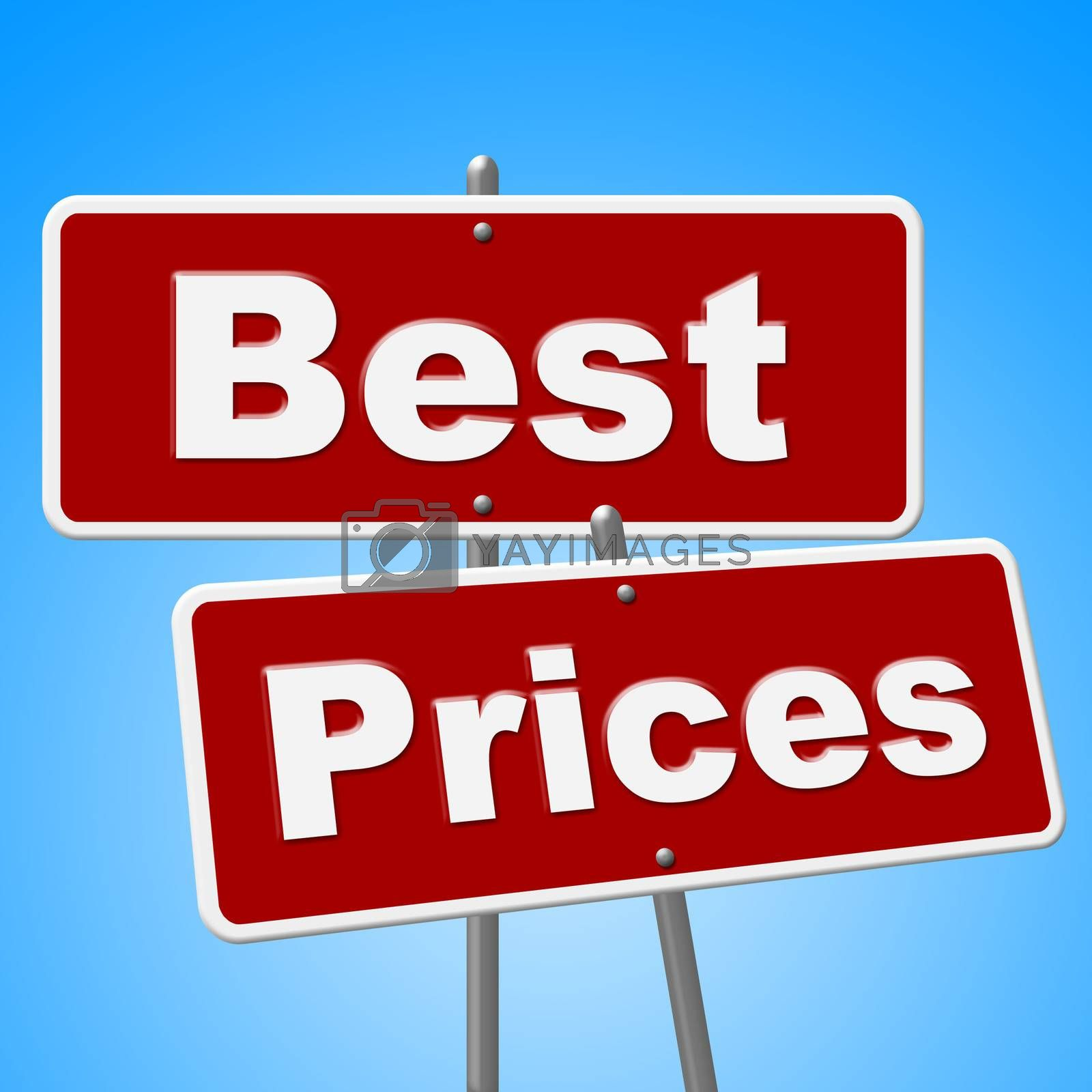 Best Prices Signs Represents Clearance Promotion And Promo by stuartmiles