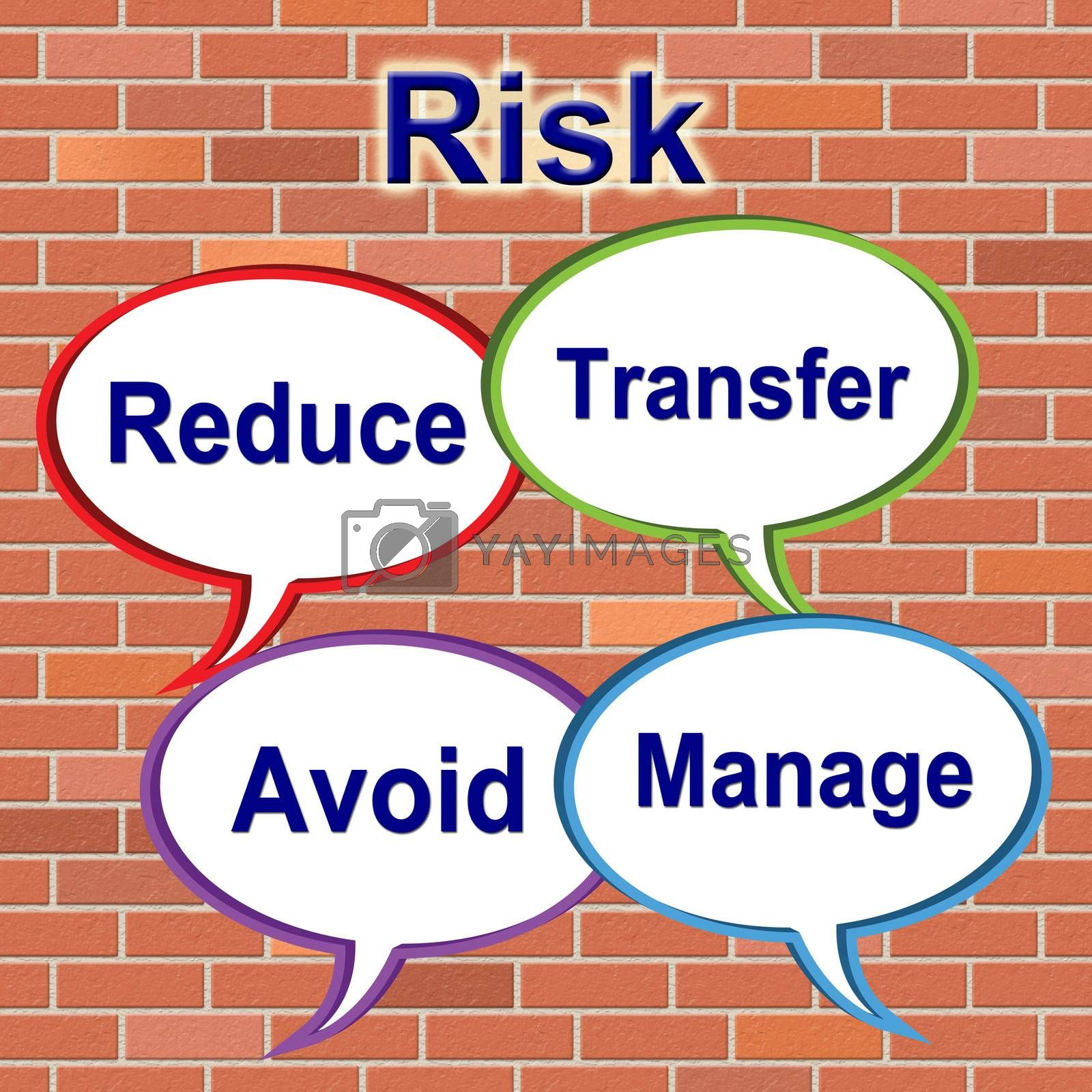 Risk Words Indicates Unstable Beware And Risky by stuartmiles