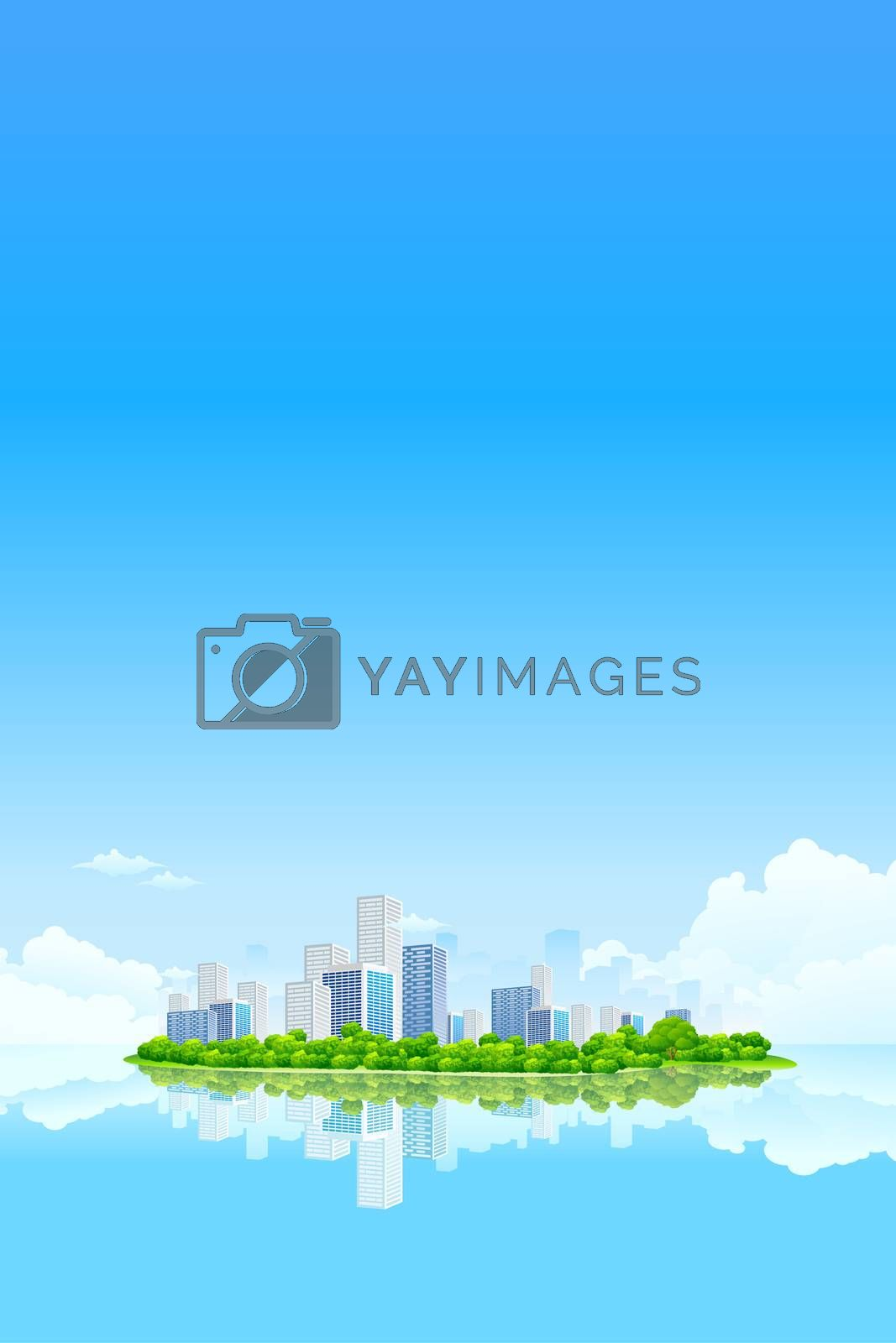 Business City Landscape by WaD
