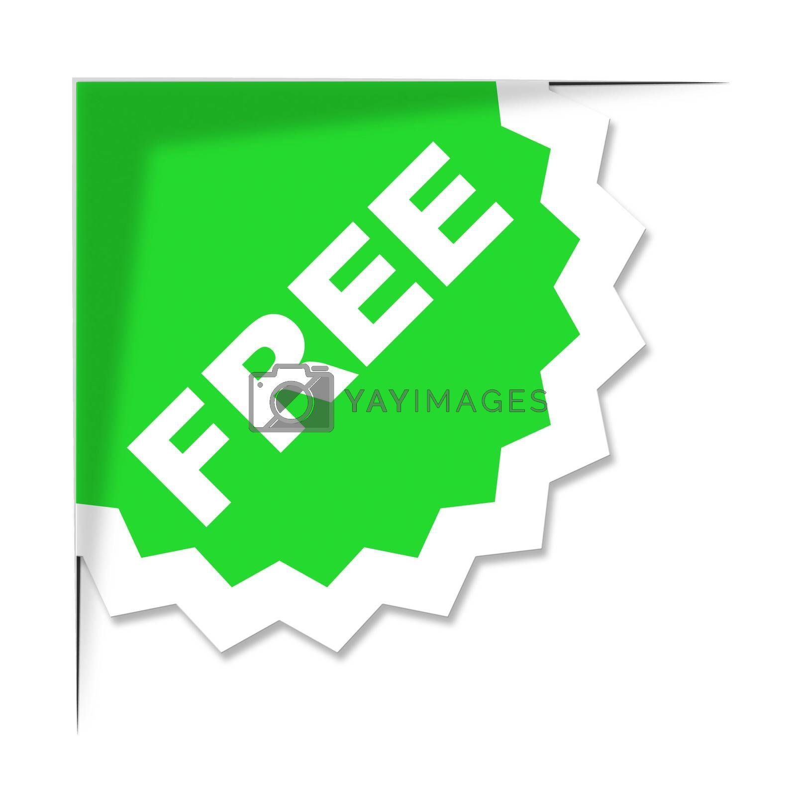 Free Label Means With Our Compliments And Freebie by stuartmiles