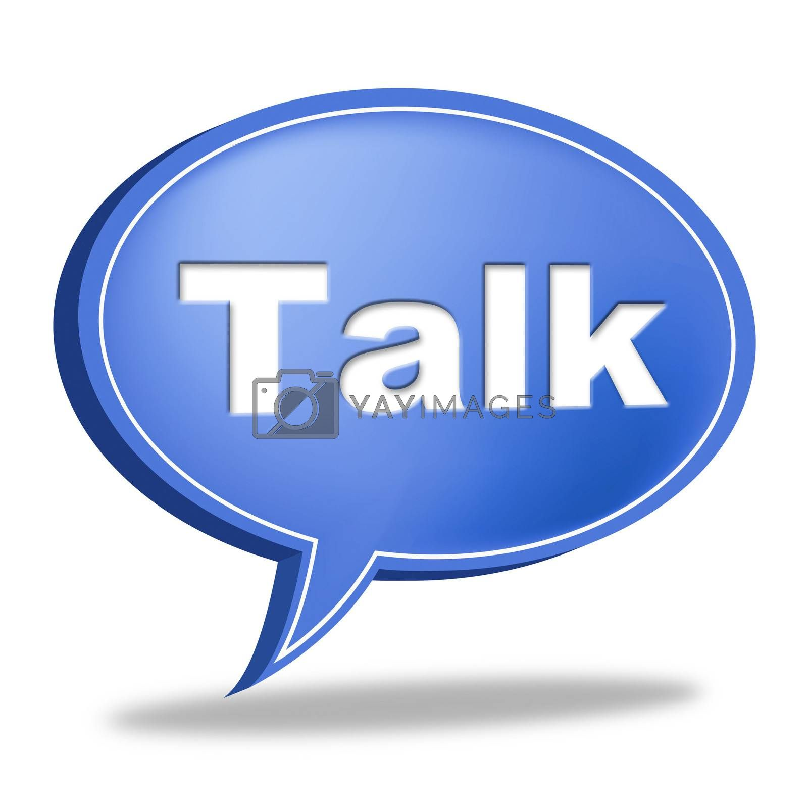 Talk Message Shows Correspond Communicate And Debate by stuartmiles