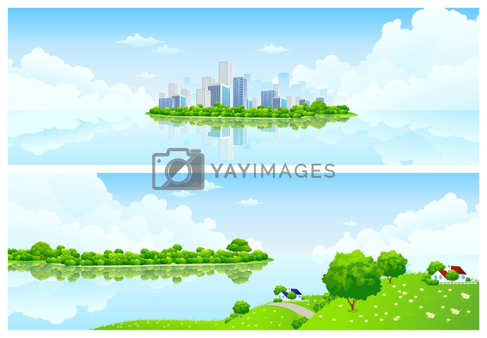 Nature banners by WaD