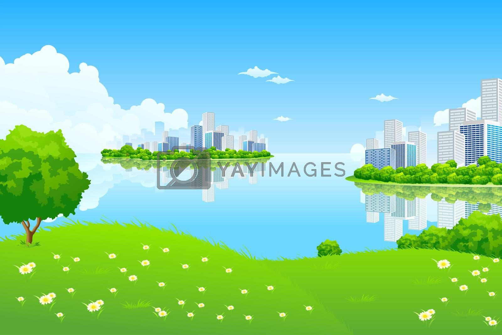 Green City Landscape by WaD