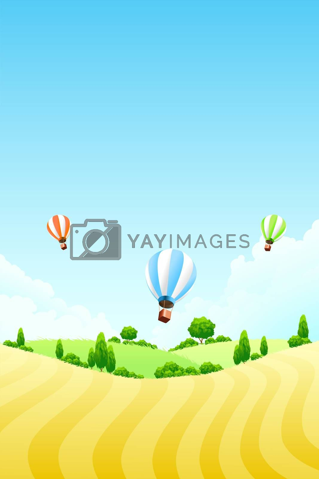 Nature background by WaD