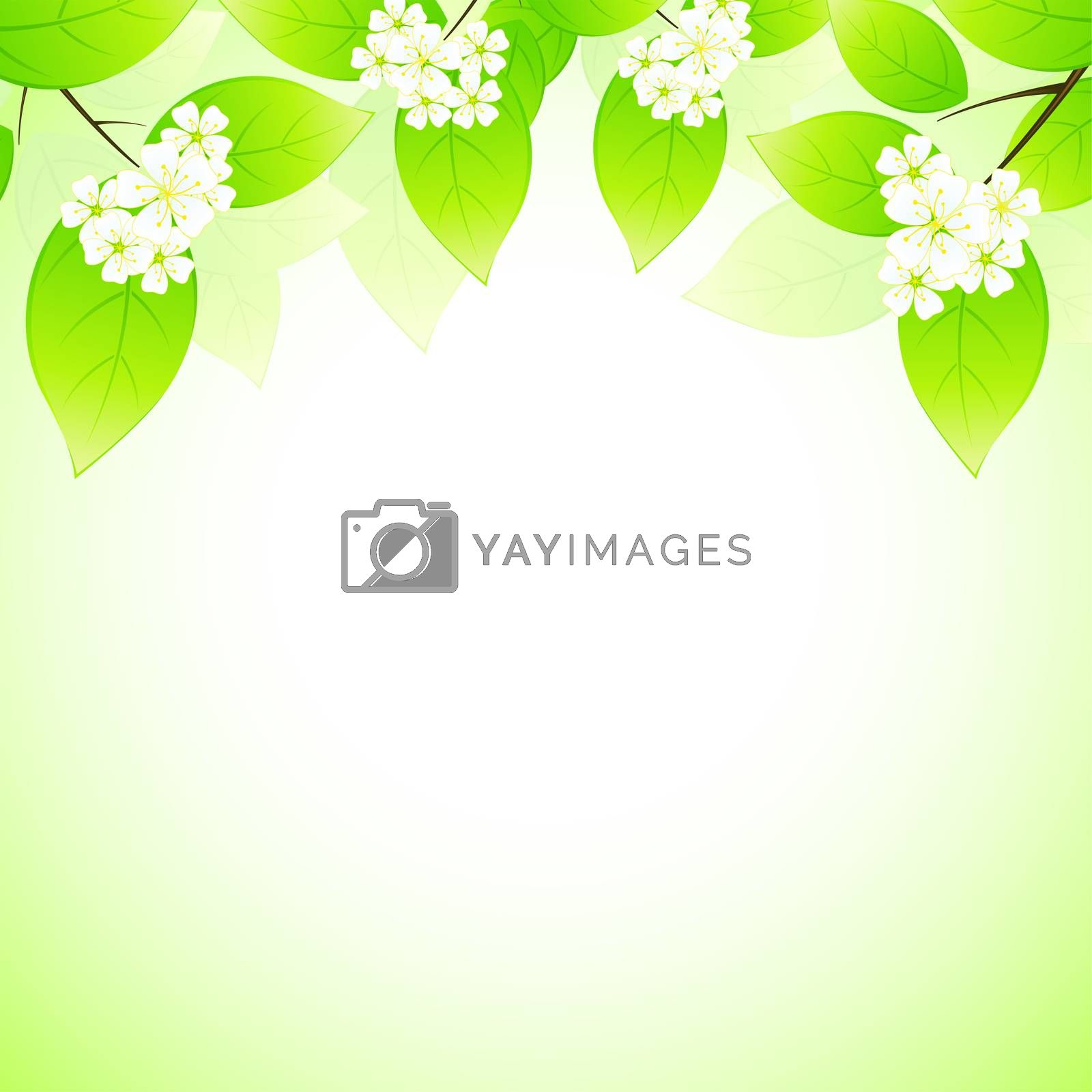 Spring background by WaD