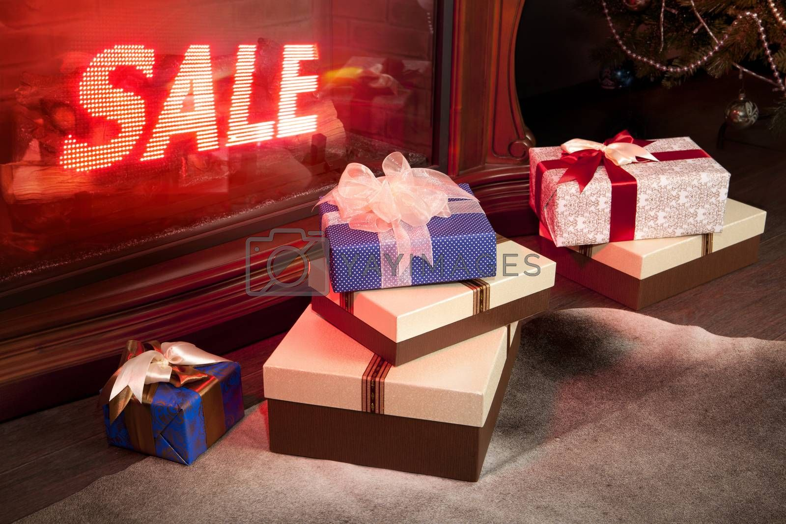 Christmas sale by ssuaphoto