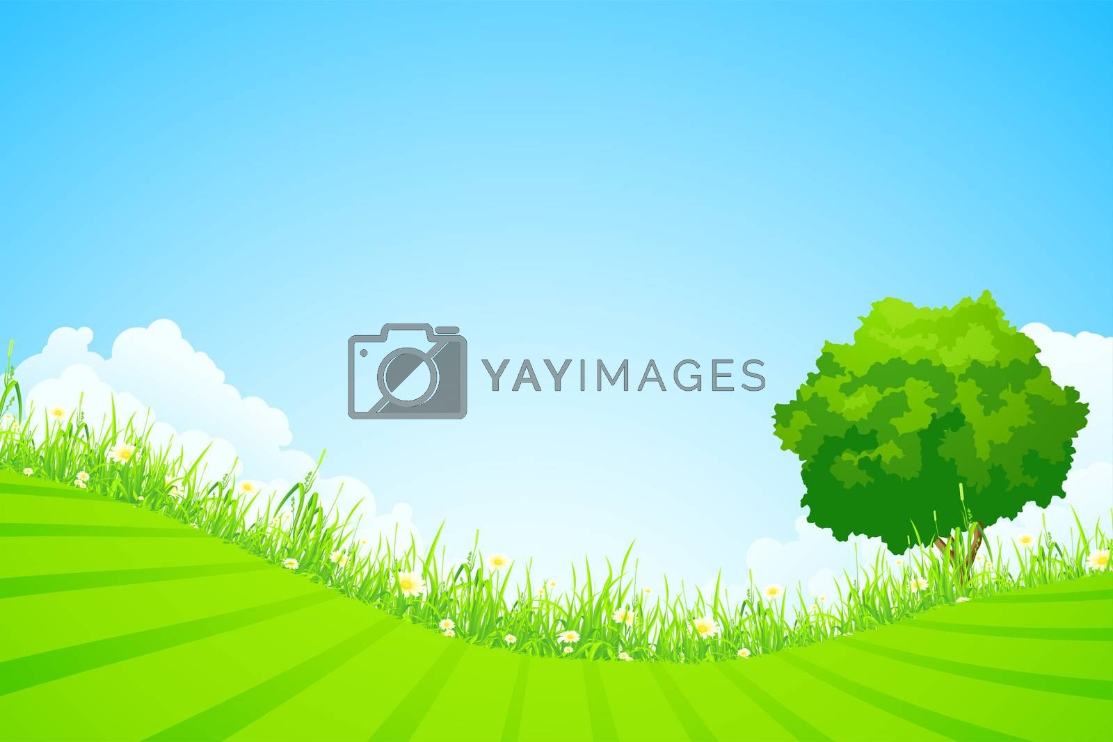 Green landscape by WaD