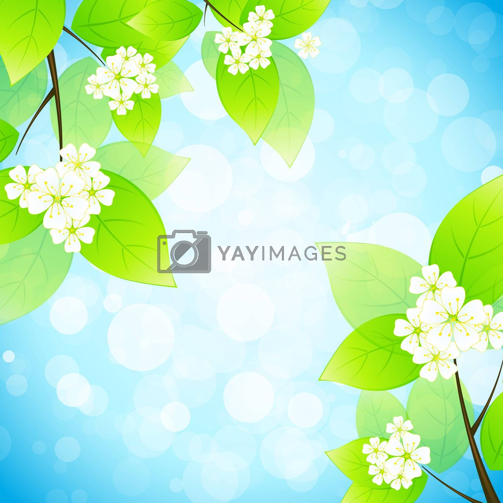Green Leaves in the Sky by WaD