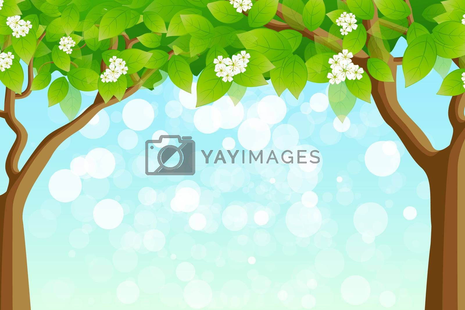 Green Tree Frame by WaD