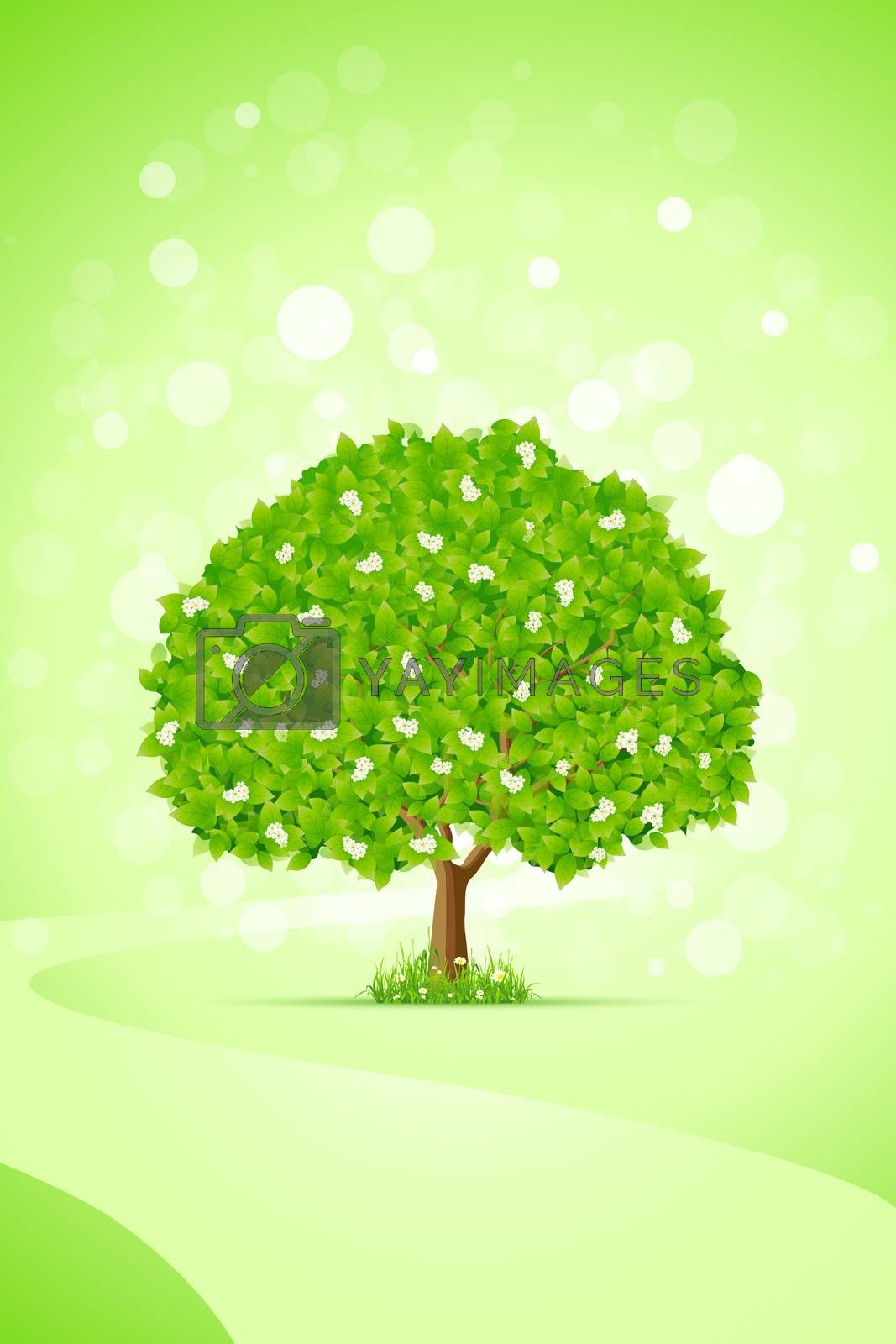 Green Tree by WaD