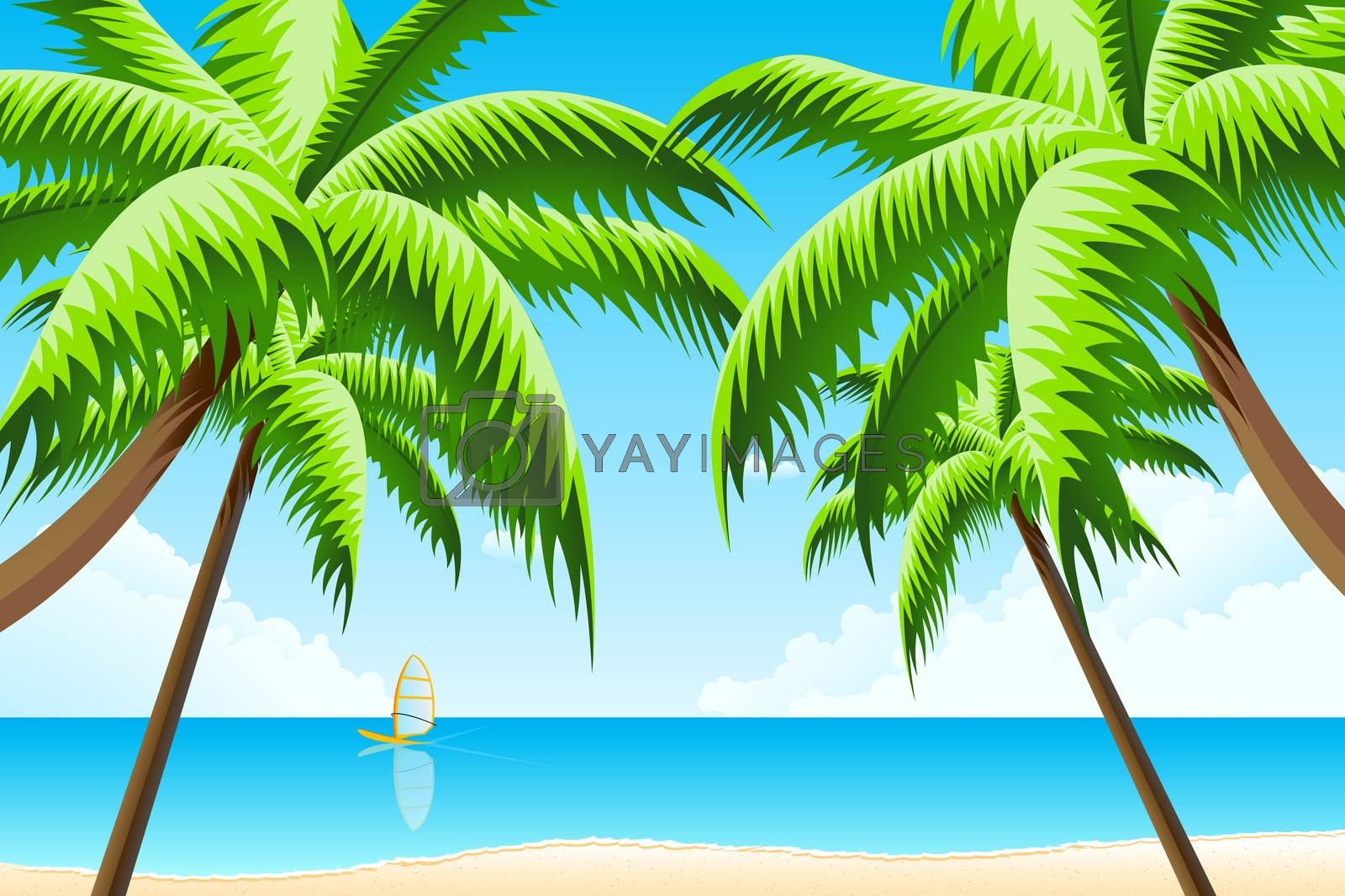 Tropical Background by WaD