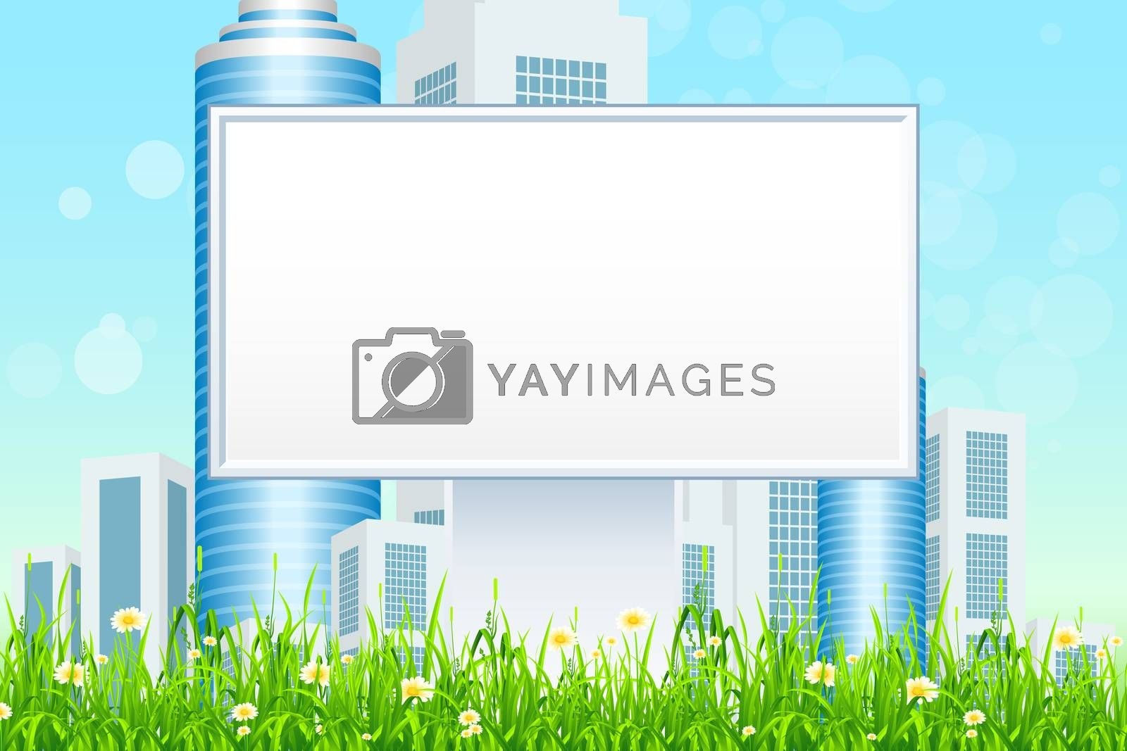 Empty Billboard in the Grass by WaD