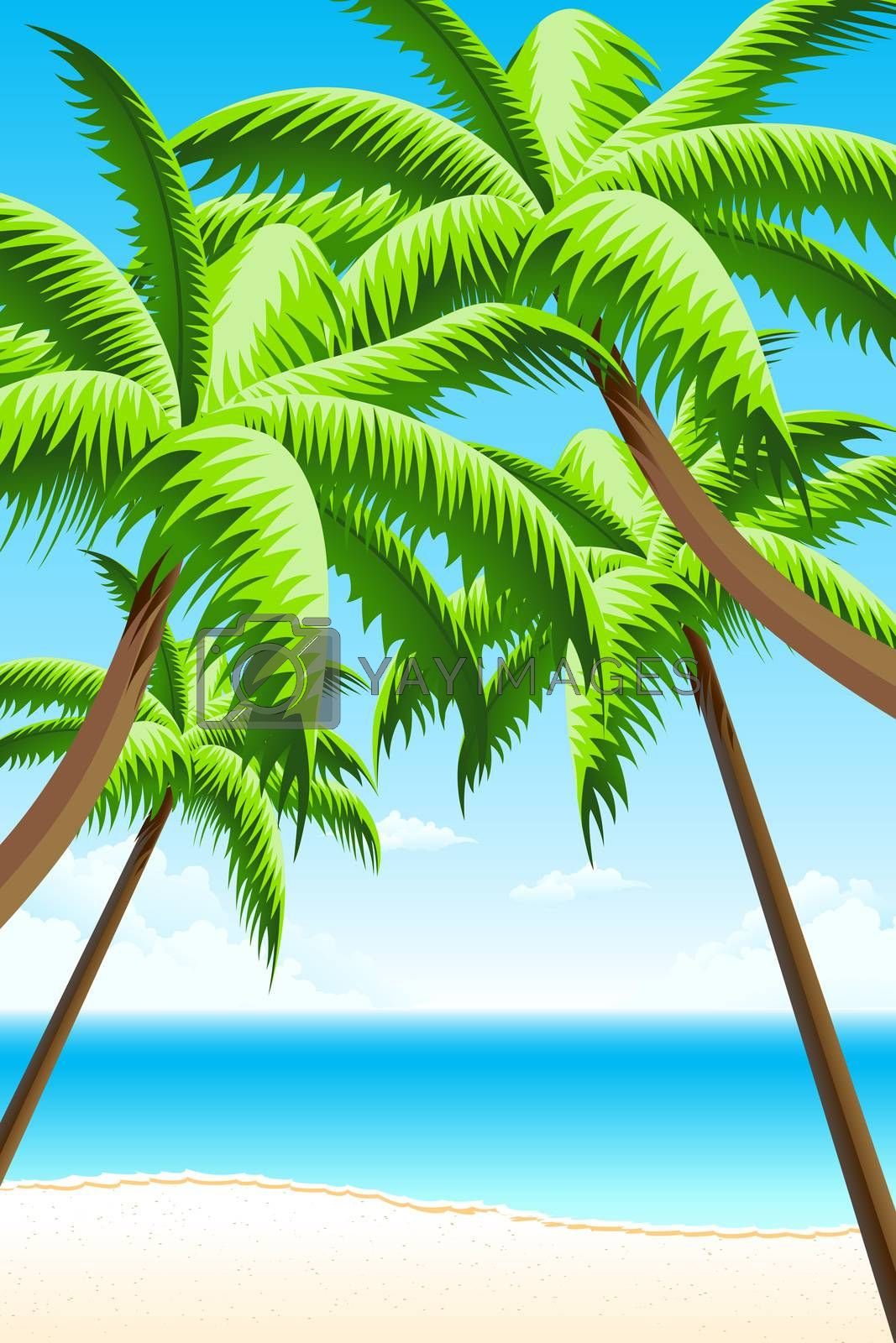 Summer Vacation Background by WaD